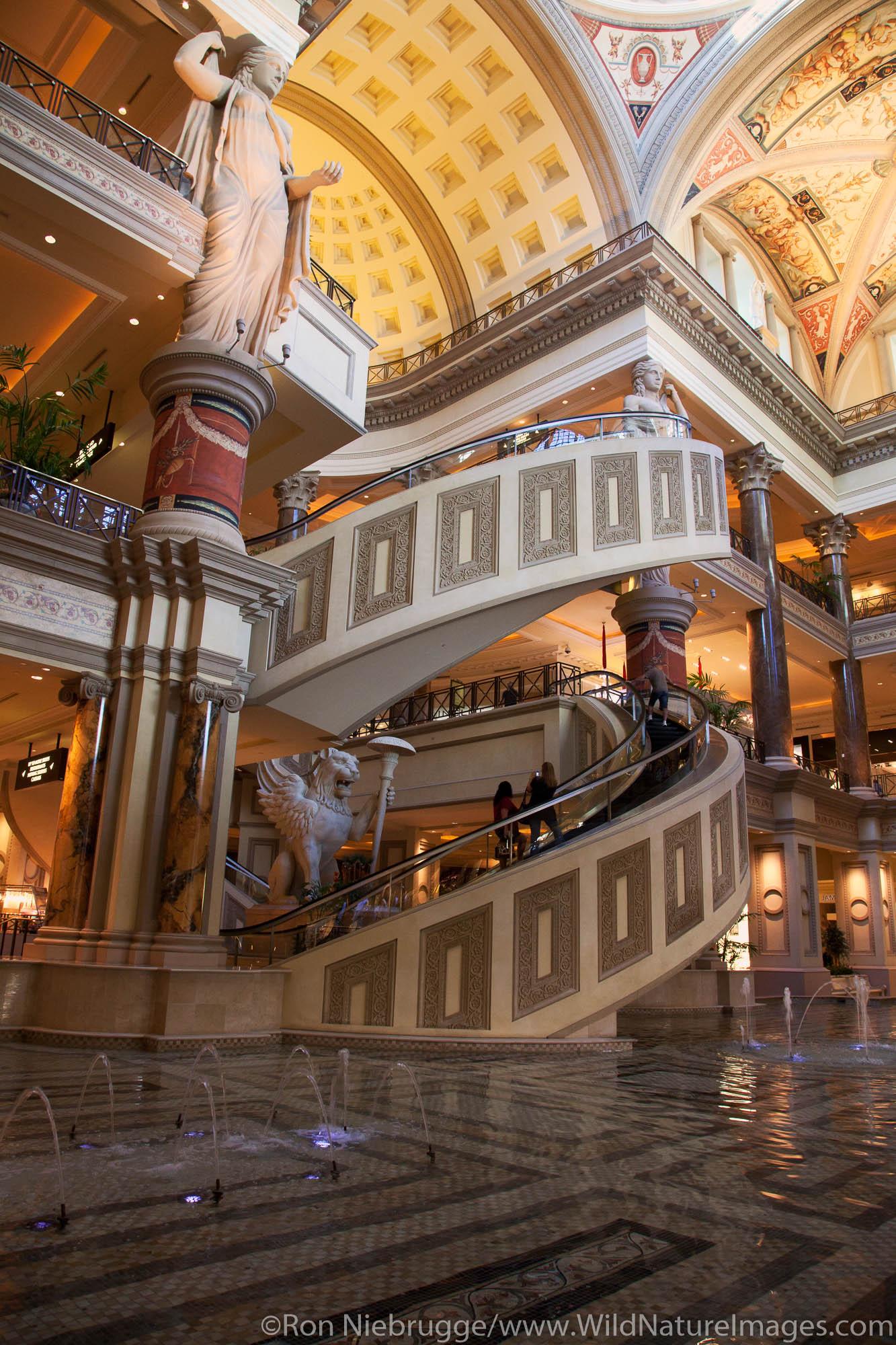 The Forum Shops at Ceasars Palace, Las Vegas, Nevada