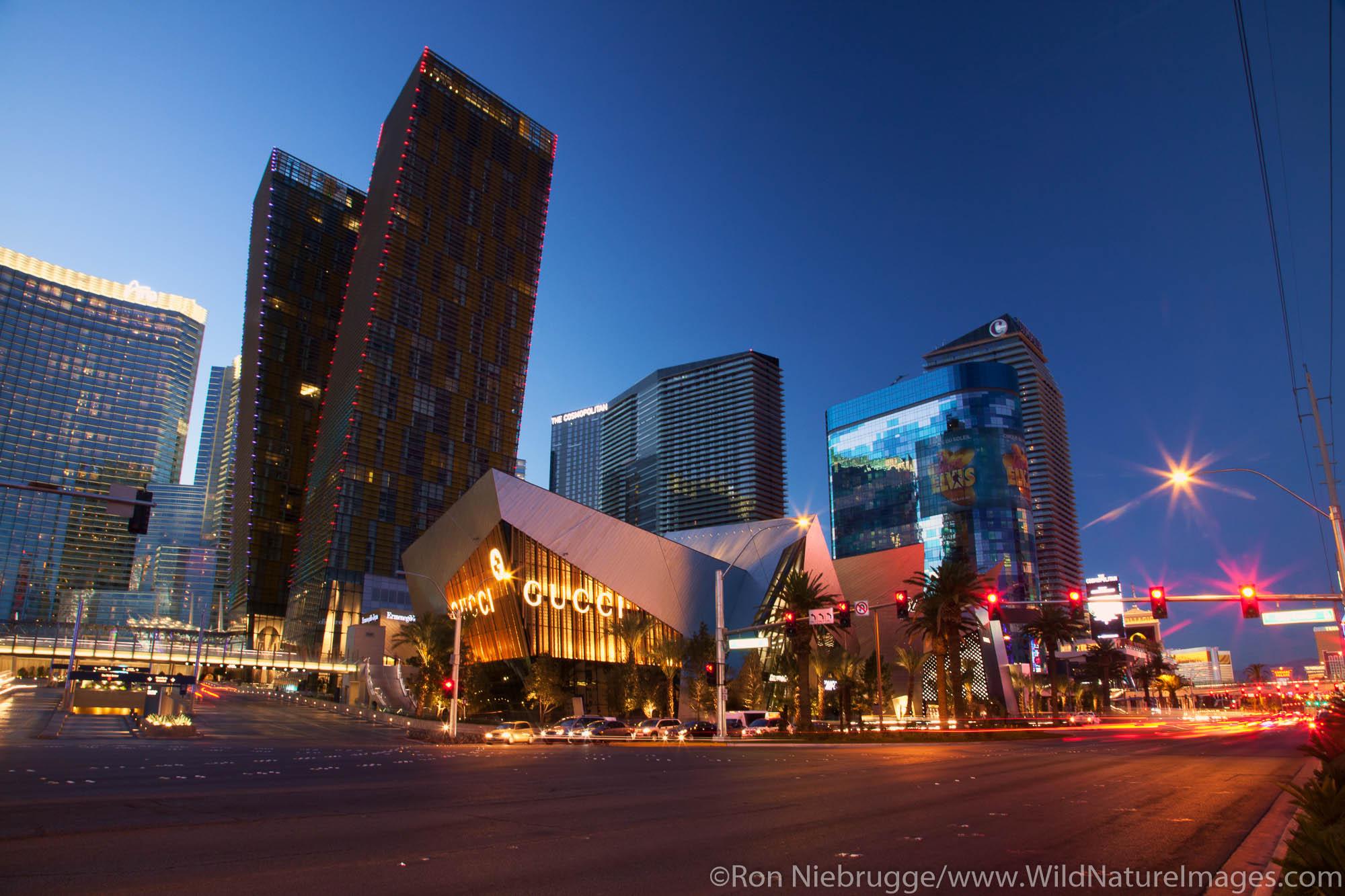 Crystals and CityCenter, Las Vegas, NV