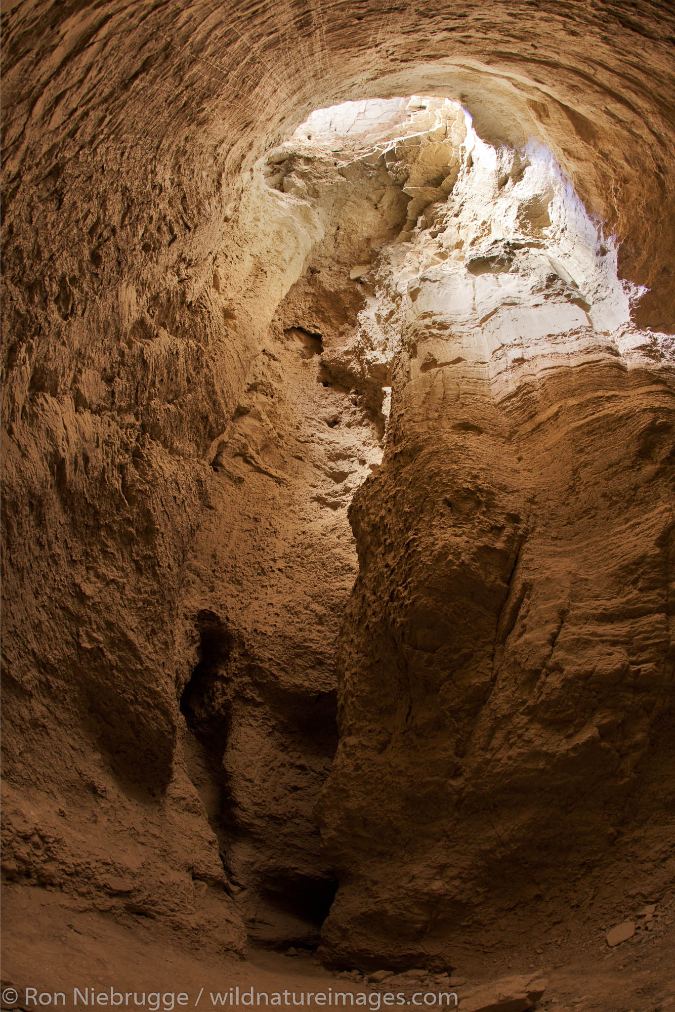 Some of the biggest mud caves in the world, Anza-Borrego Desert State Park, California.