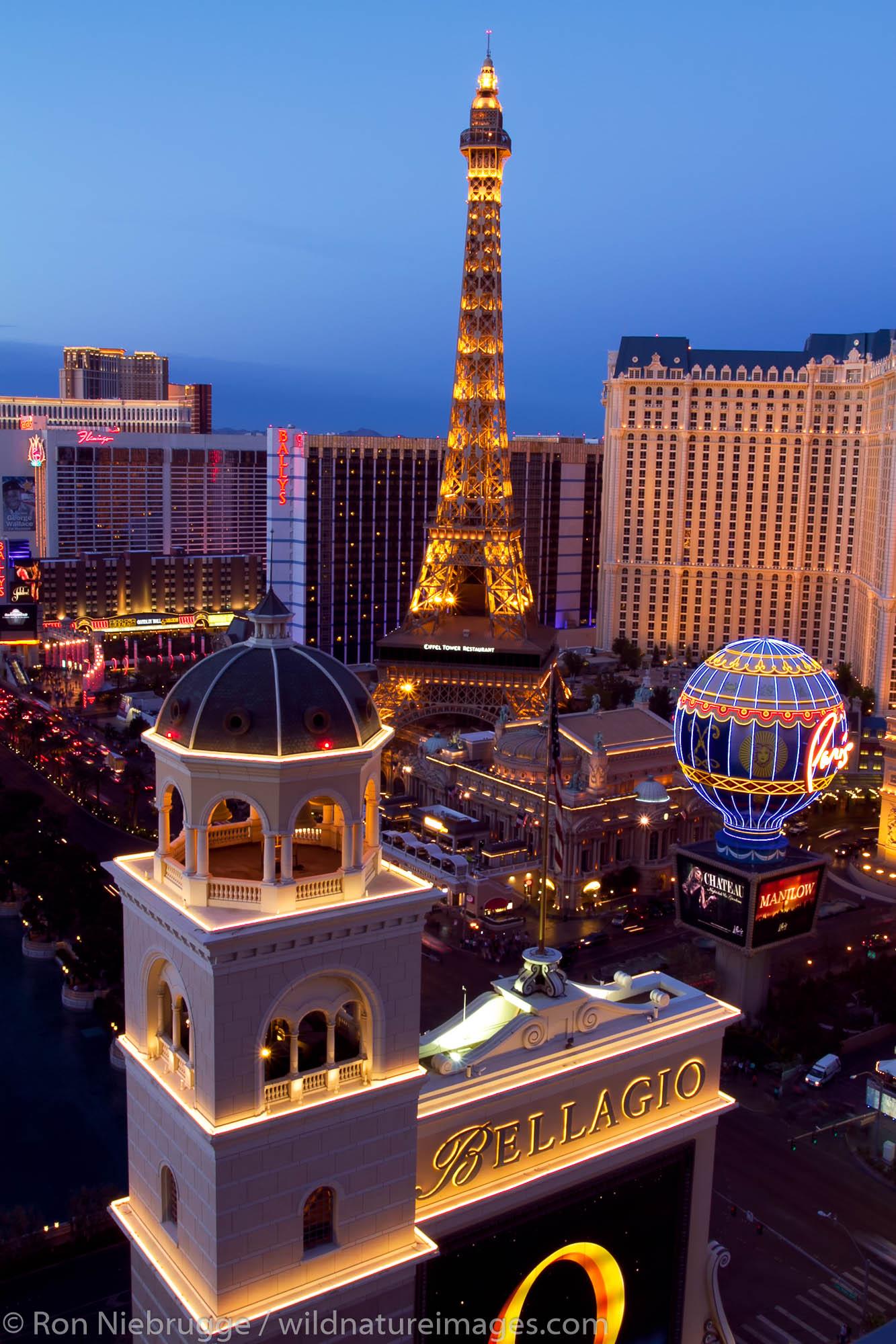 The Strip, Las Vegas, Nevada.