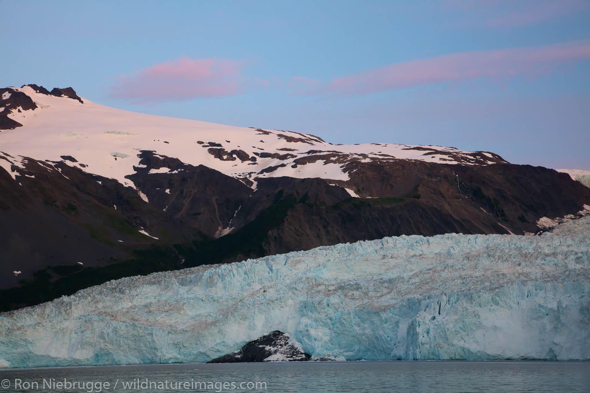 Kenai Fjords National Park, Alaska, Aialik Glacier, photo