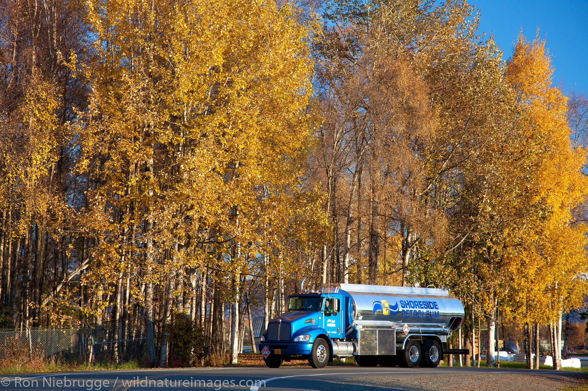 Shoreside Petroleum Anchorage Fuel Truck Shoot, October 10, 2011.