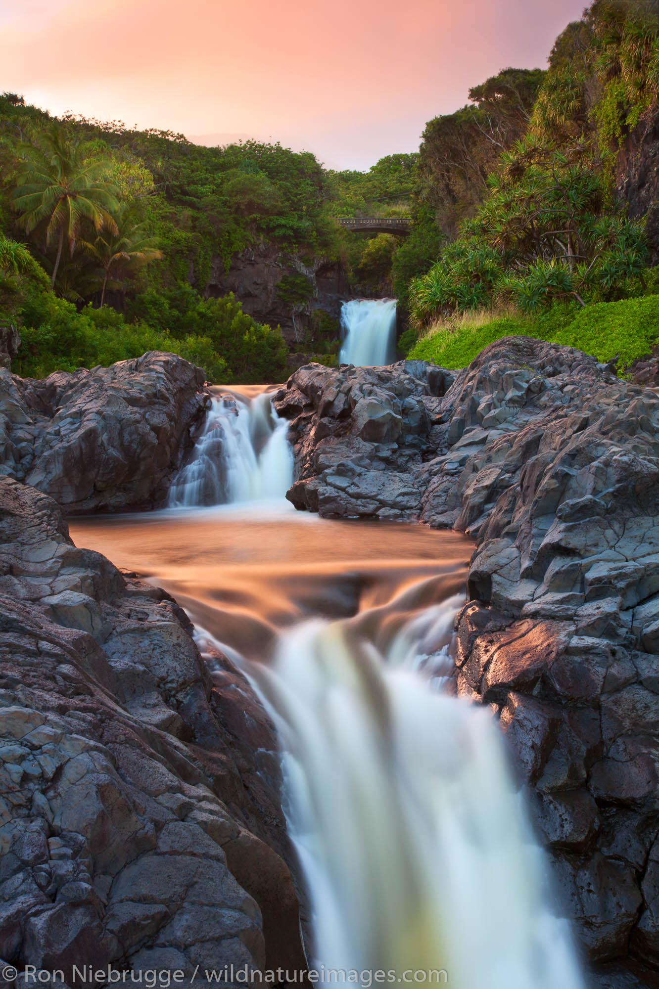 Seven Sacred Pools Haleakala National Park Maui Hawaii Ron Niebrugge Photography