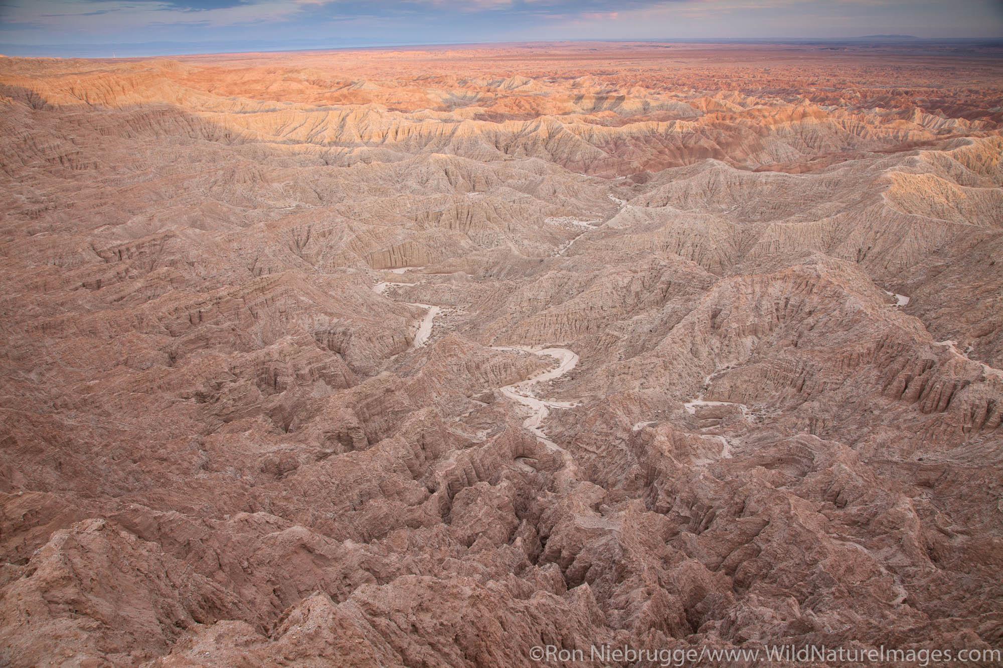 Fonts Point, Anza-Borrego Desert State Park, California.