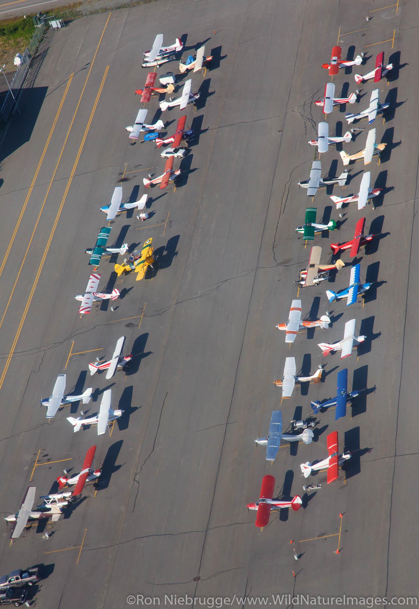 Lake Hood Airport, Anchorage, Alaska.