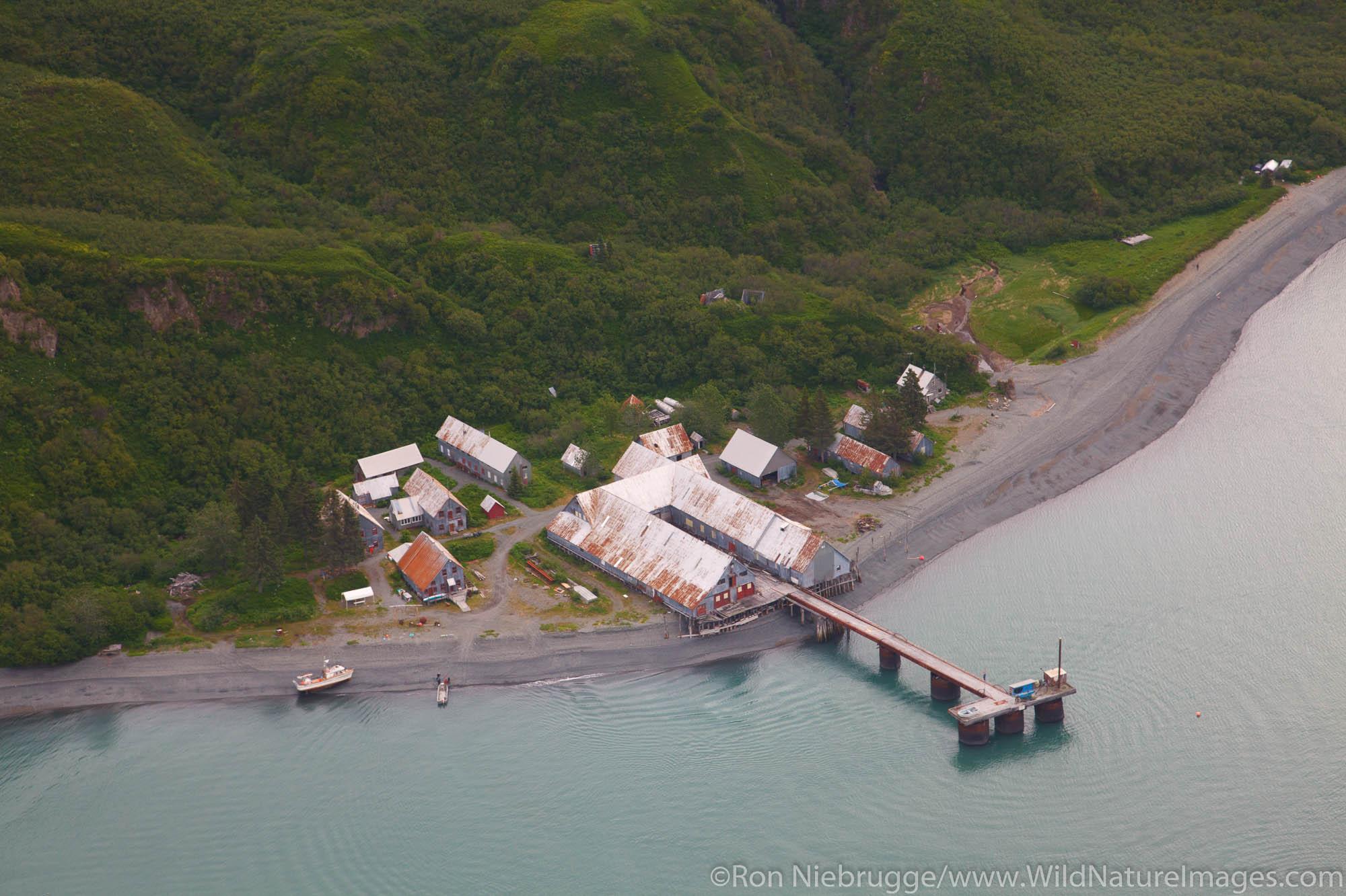 Snug Harbor Cannery, Cook Inlet, Alaska.