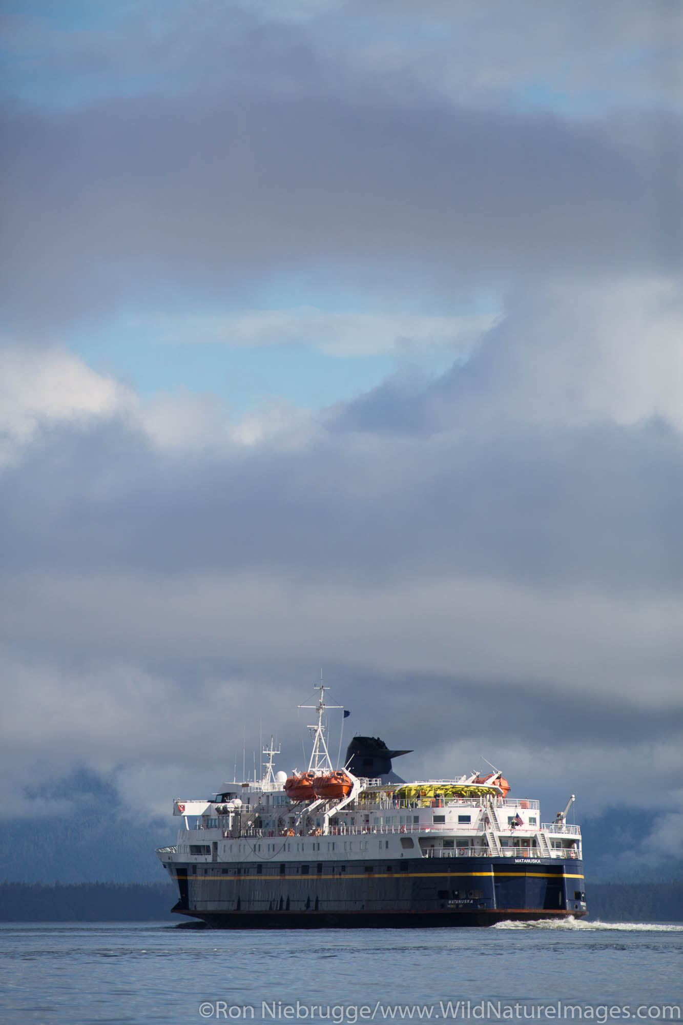 Alaska State Ferry Matanuska, Petersburg, Alaska.