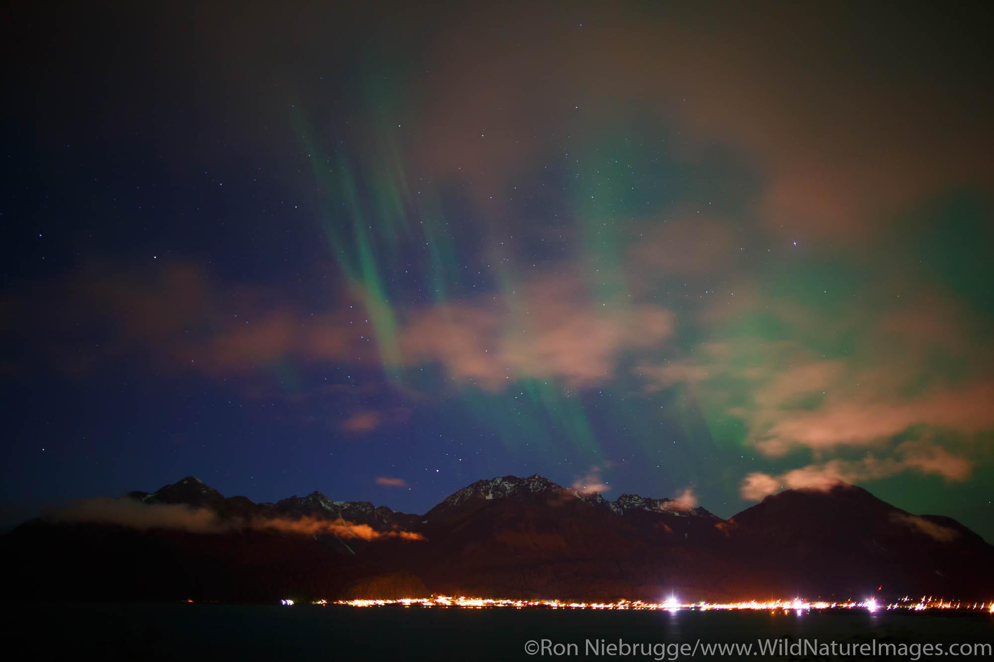 Northern Lights, also known as Aurora borealis, Alaska