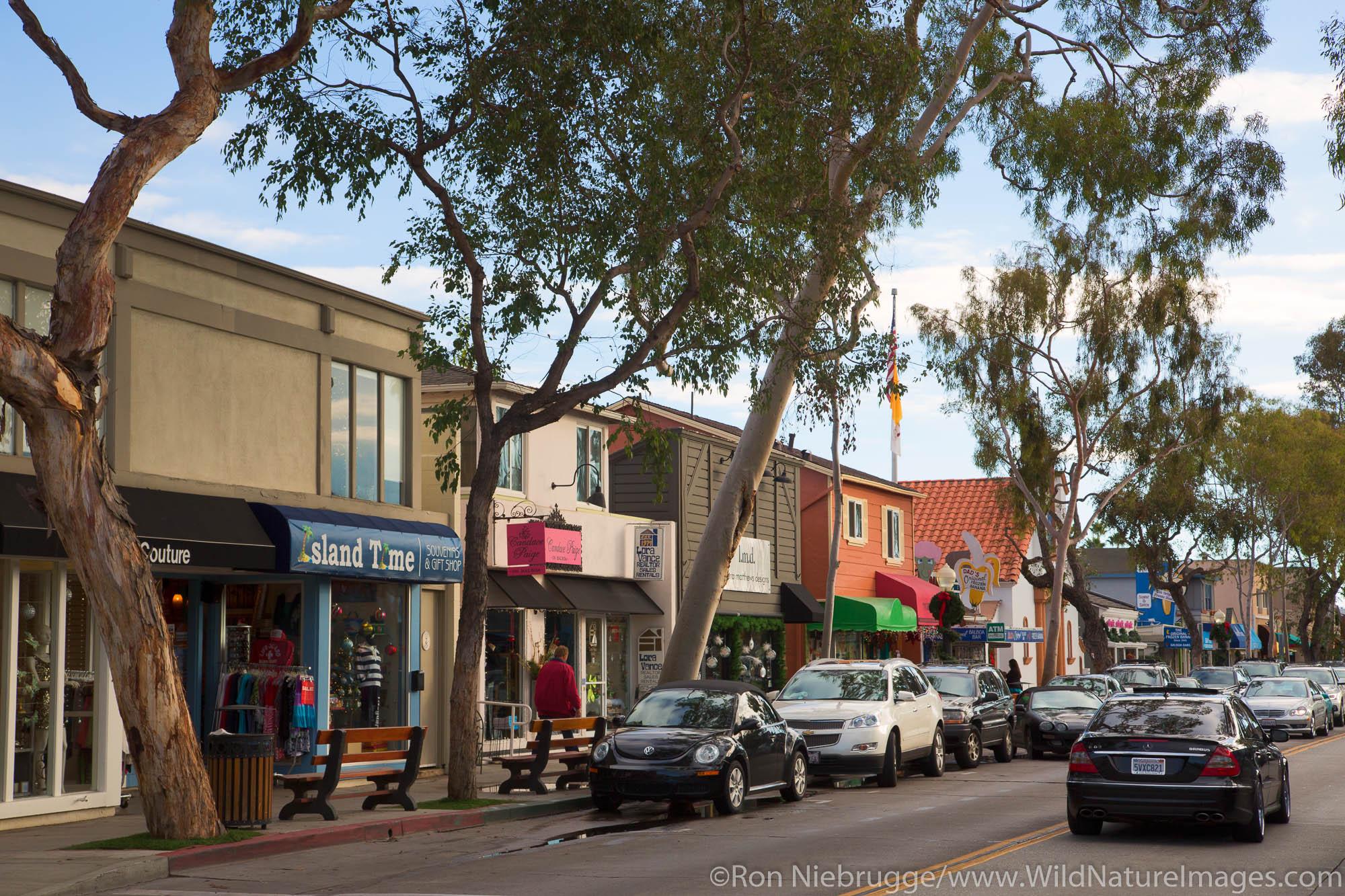 Balboa Island, Newport Beach, Orange County, California.