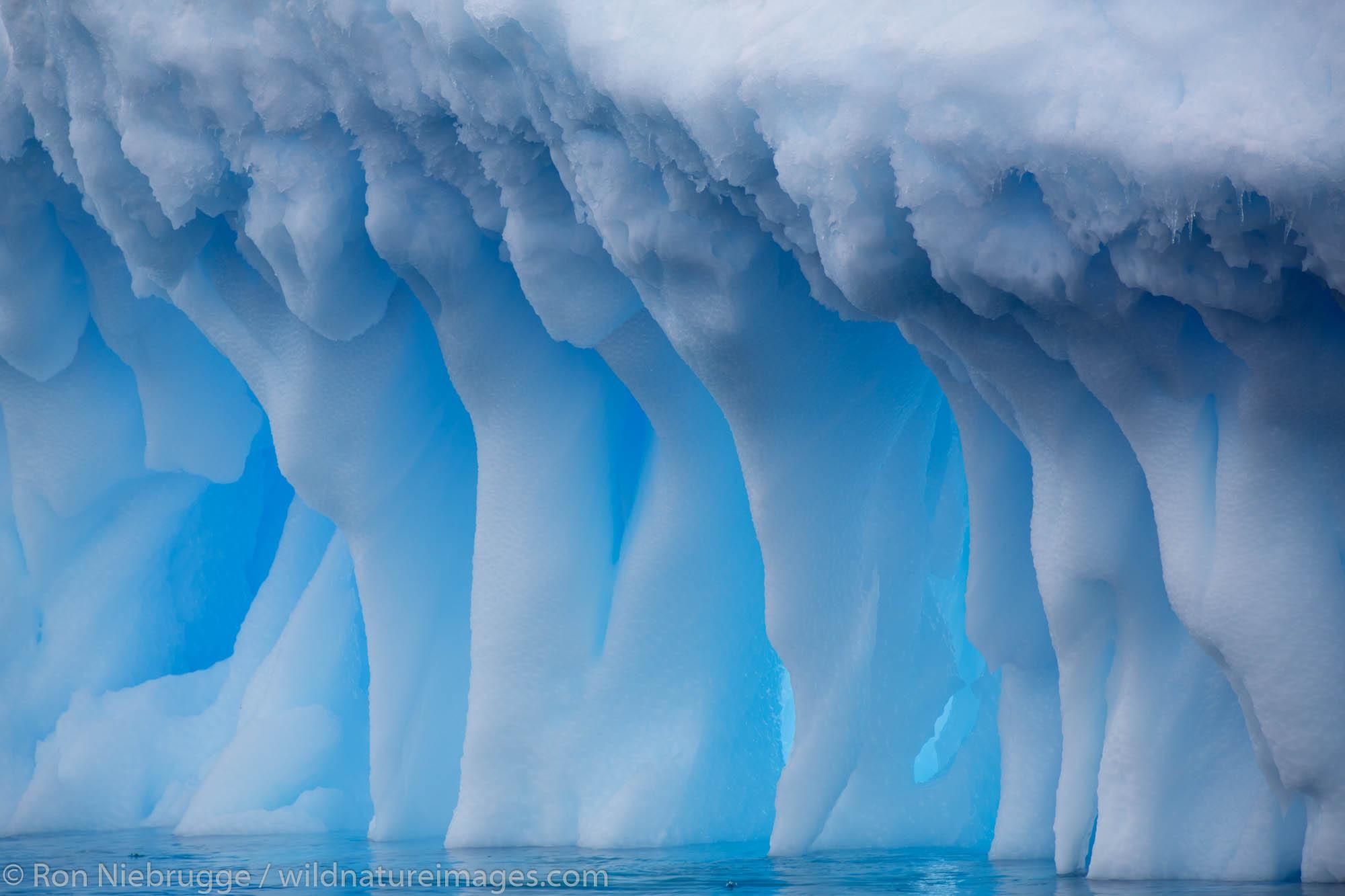 Icebergs at Brown Bluff, Antarctica.