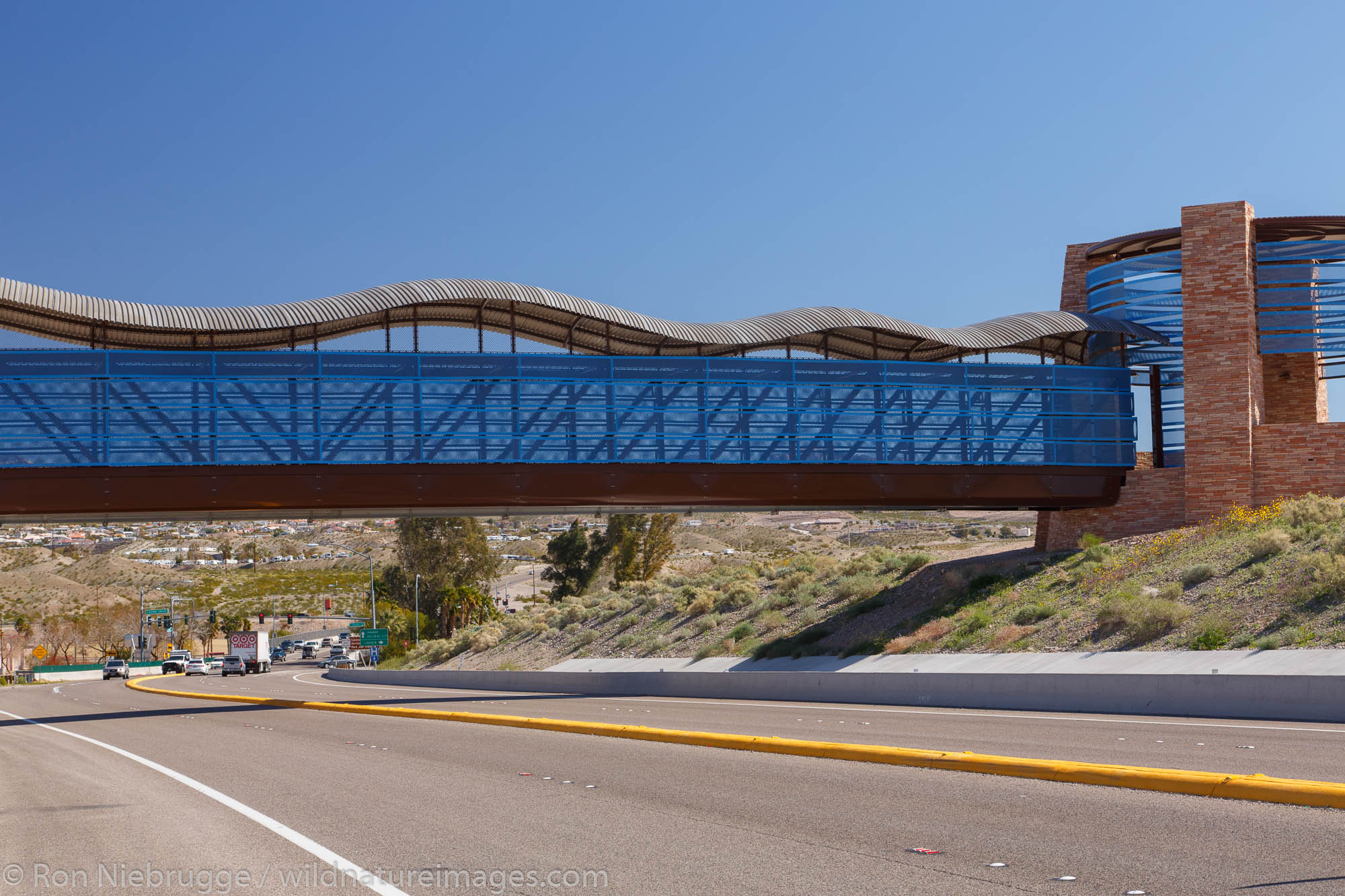 The Riverwalk Exploration Trail along the Colorado River, Laughlin, Nevada.