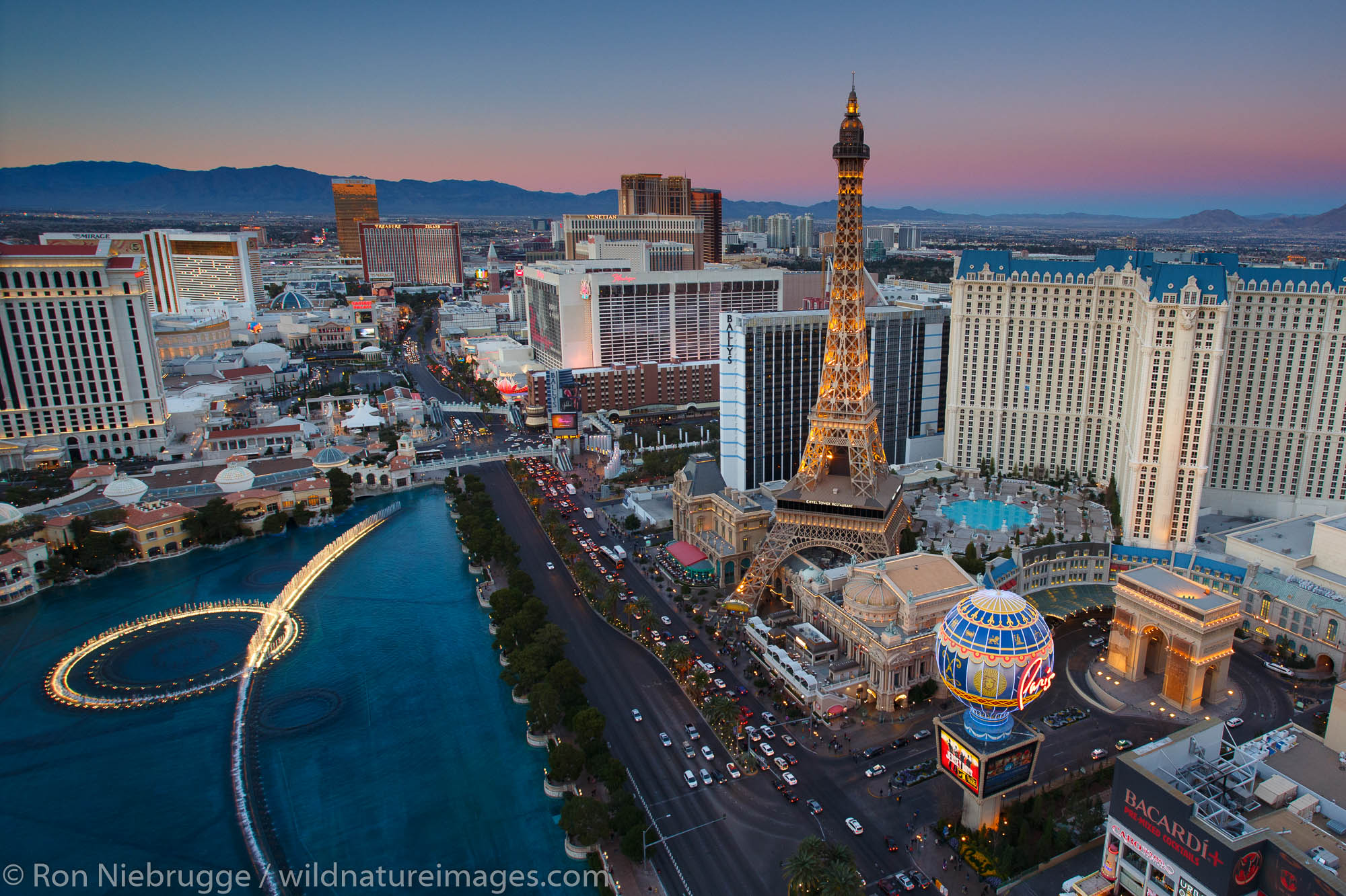 Las Vegas Strip, Las Vegas, Nevada.