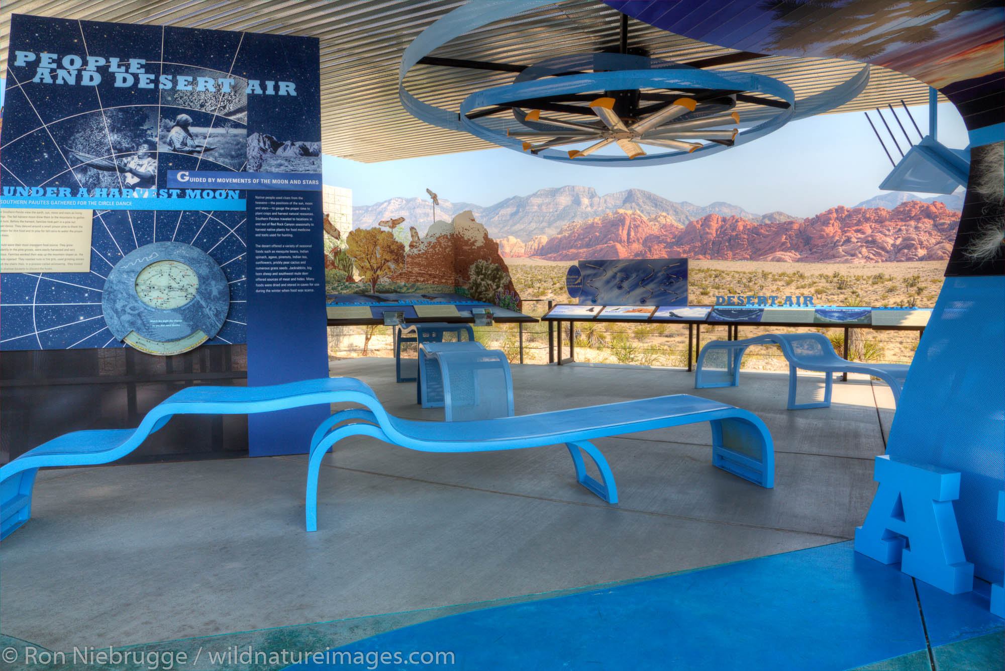 Red Rock Canyon National Conservation Area Visitor Center, Las Vegas, Nevada