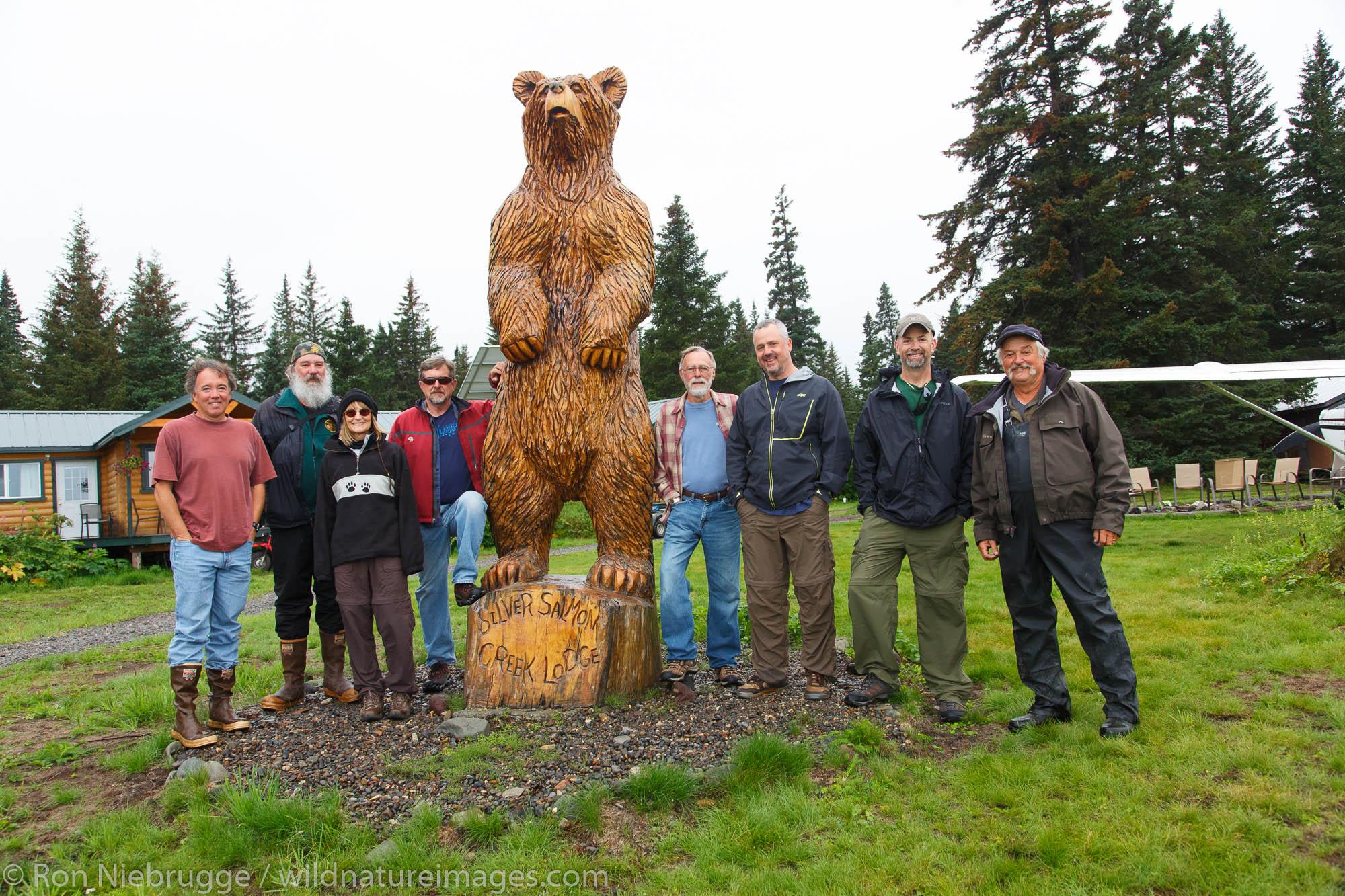 Photo Tour Group, Lake Clark National Park, Alaska.