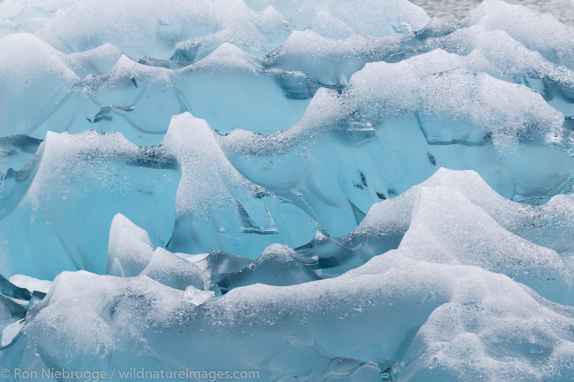 Chenega Glacier in Nassau Fjord, Prince William Sound, Chugach National Forest, Alaska.