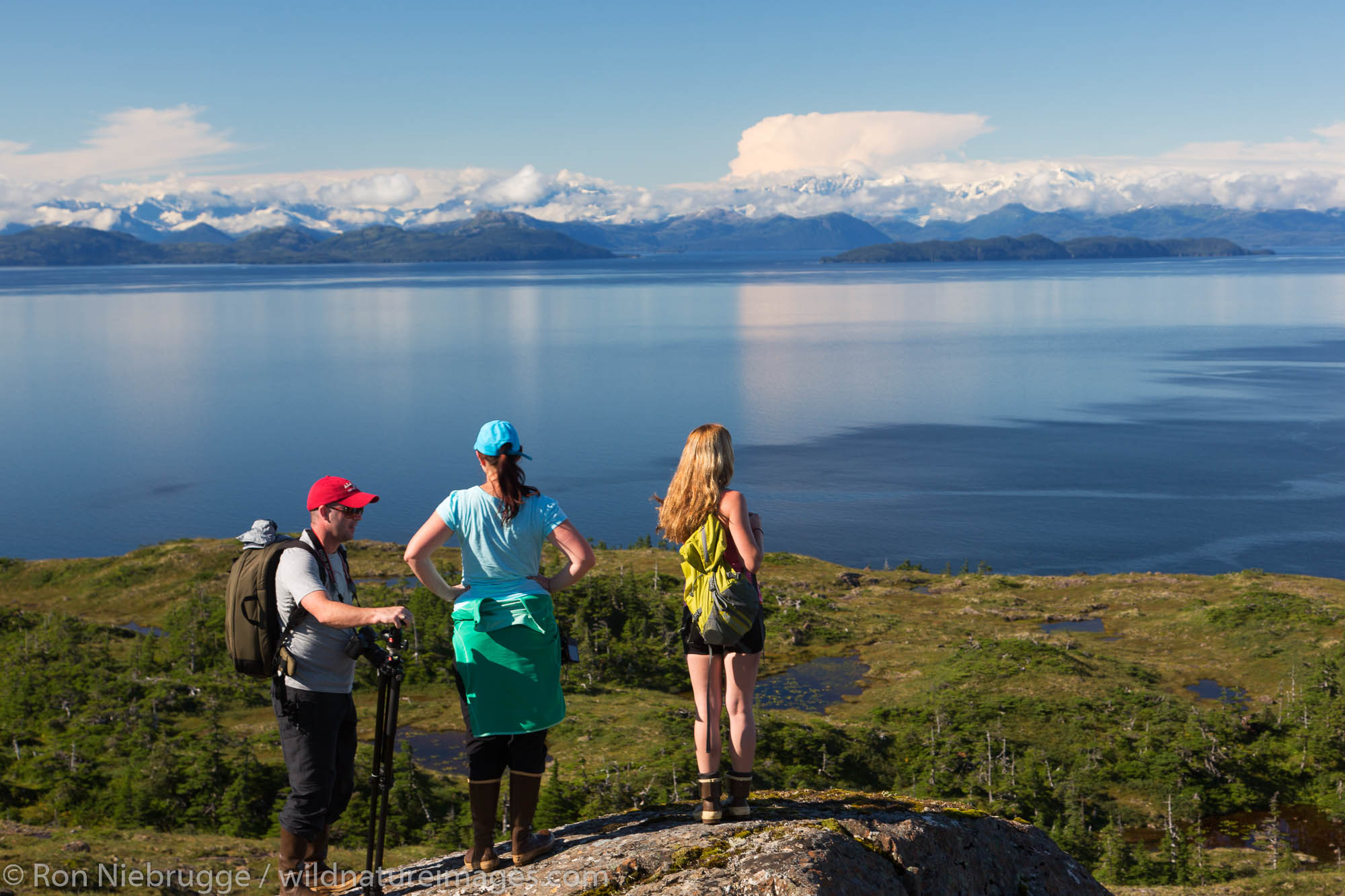 Hiking on Knight Island, Prince William Sound, Chugach National Forest, Alaska