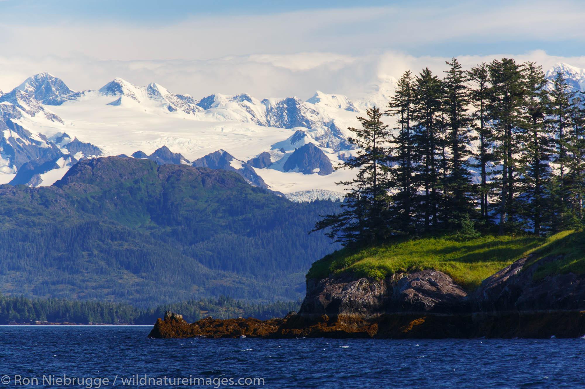 Prince William Sound, Chugach National Forest, Alaska.