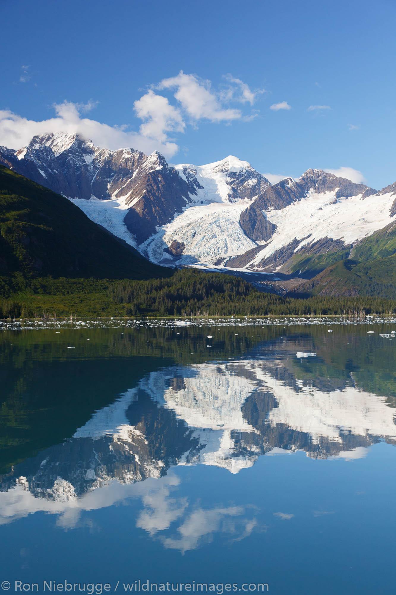 Harriman Fjord, Prince William Sound, Chugach National Forest, Alaska.