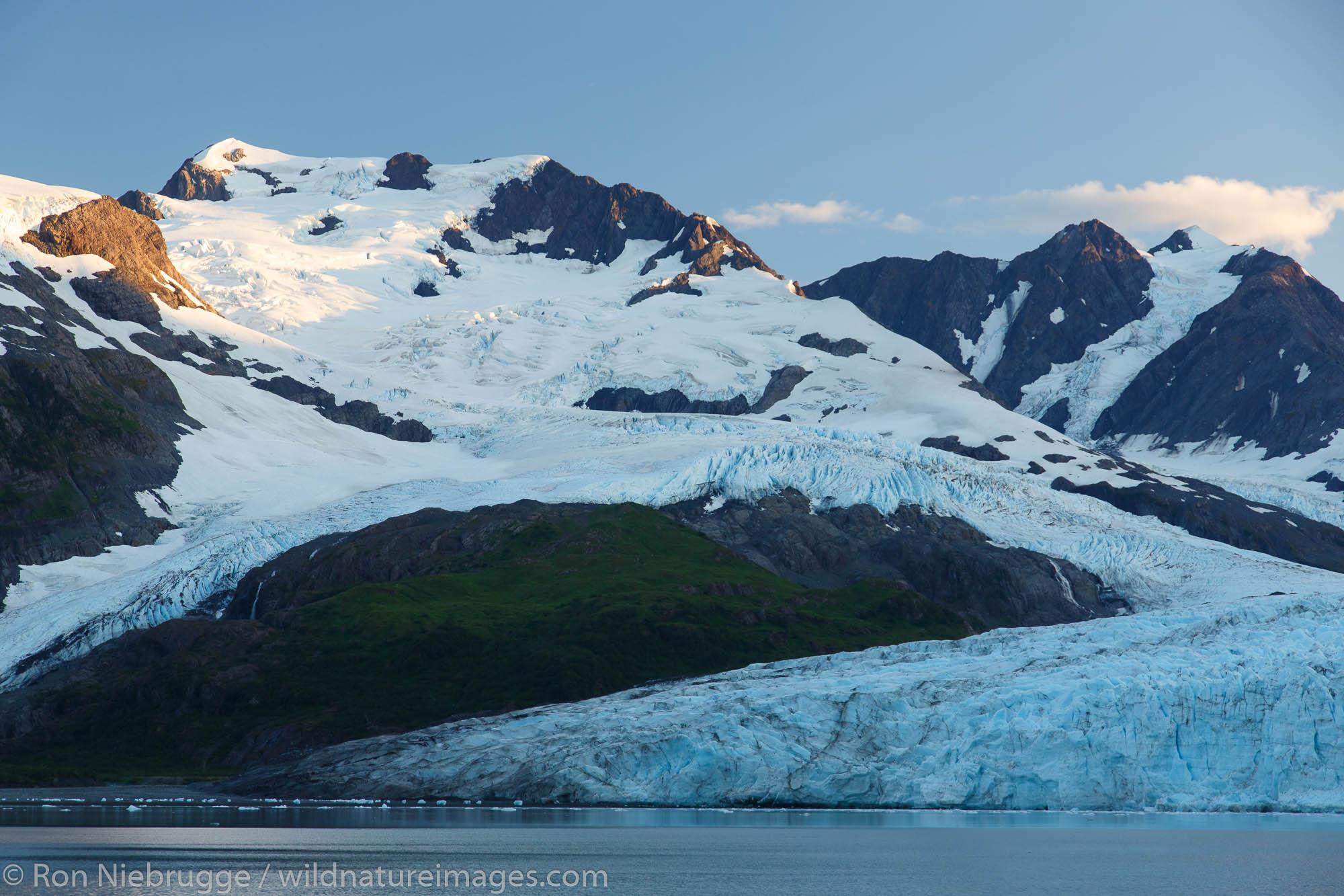 Harriman Glacier and Fjord, Prince William Sound, Chugach National Forest, Alaska.