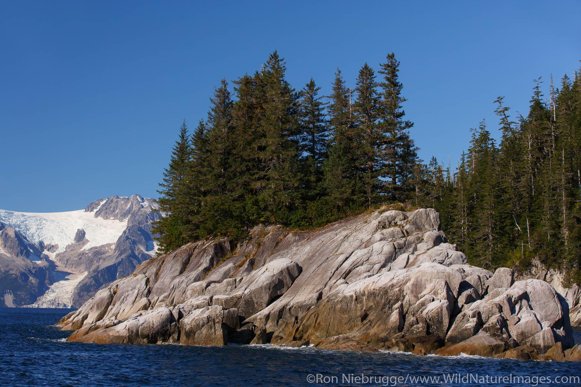 Northwestern Fjord, Kenai Fjords National Park, near Seward, Alaska.