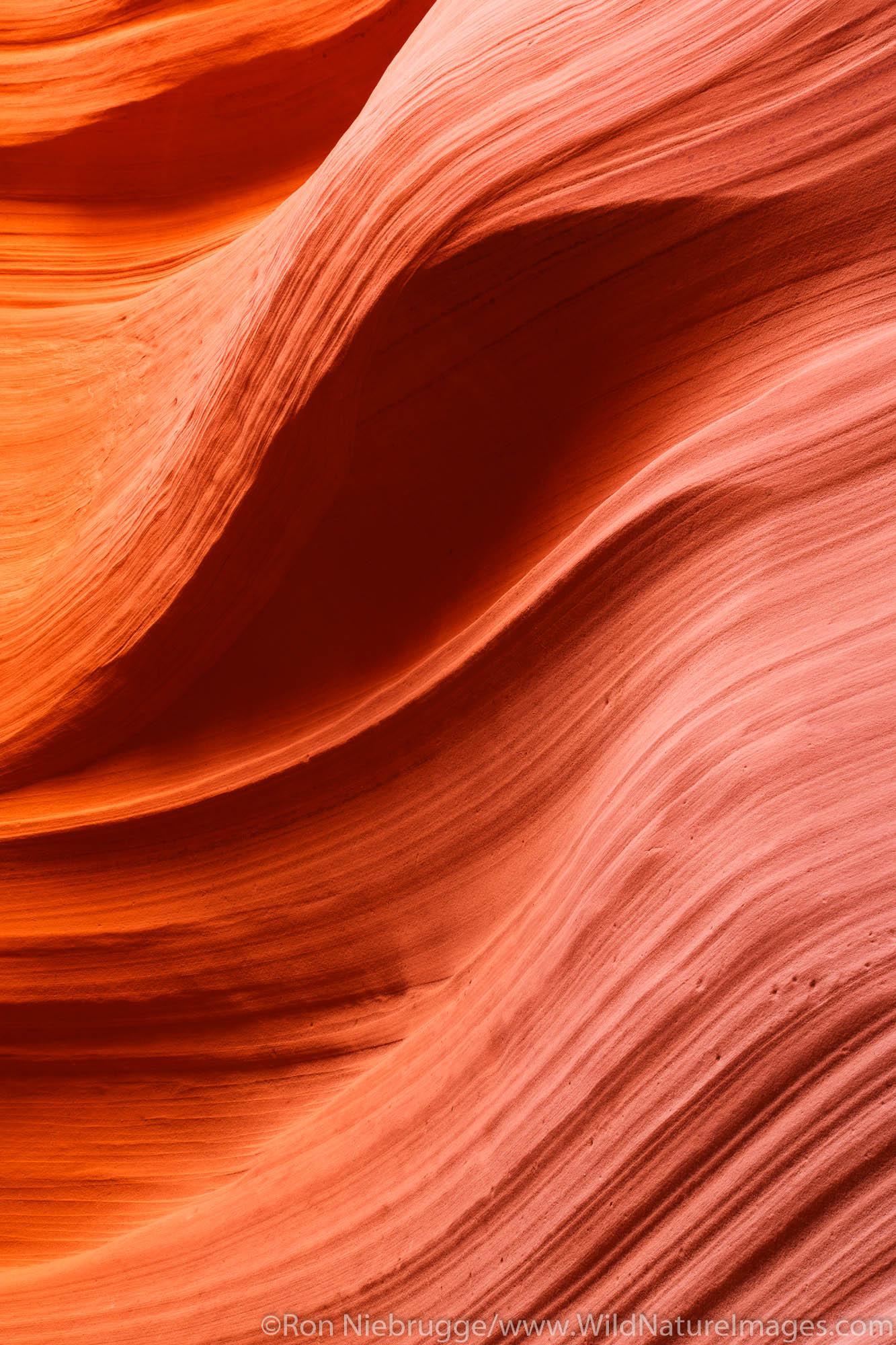 Canyon X slot canyon, Navajo Park Land, Page, Arizona.