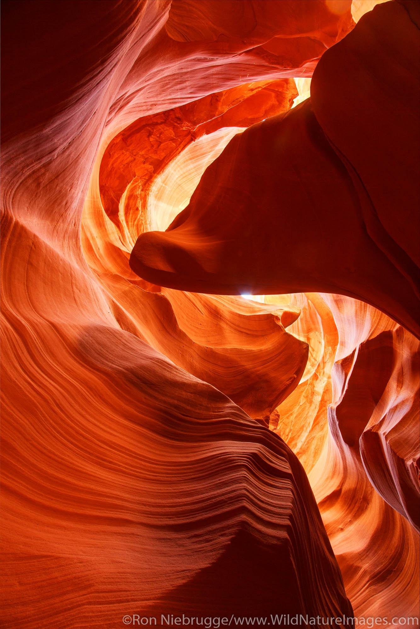 Slot Canyon,Navajo Park Land, Page, Arizona.