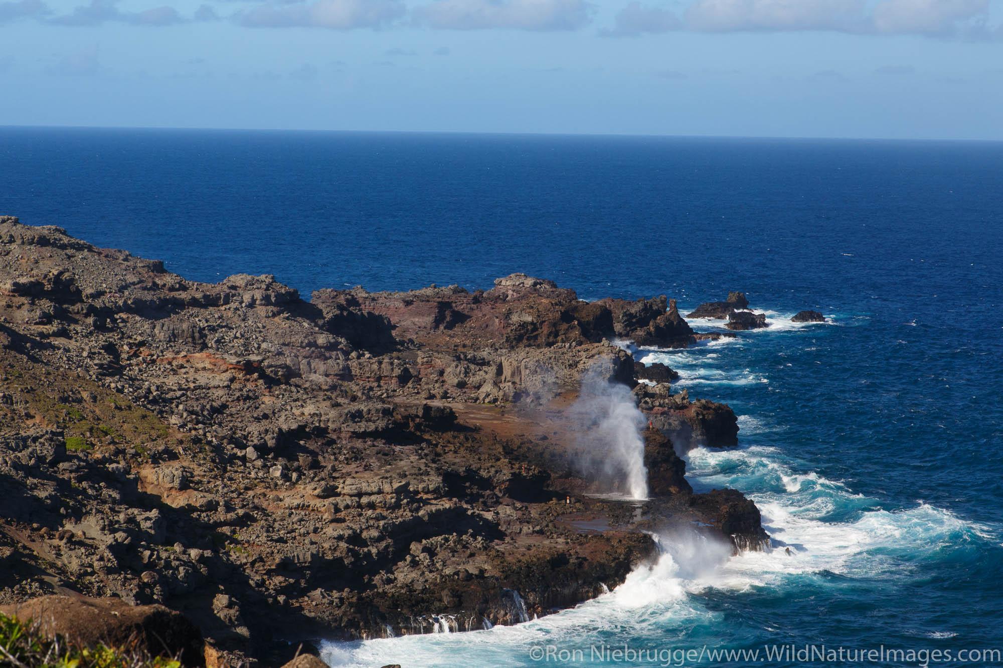 Nakalele Blowhole, Maui, Hawaii.