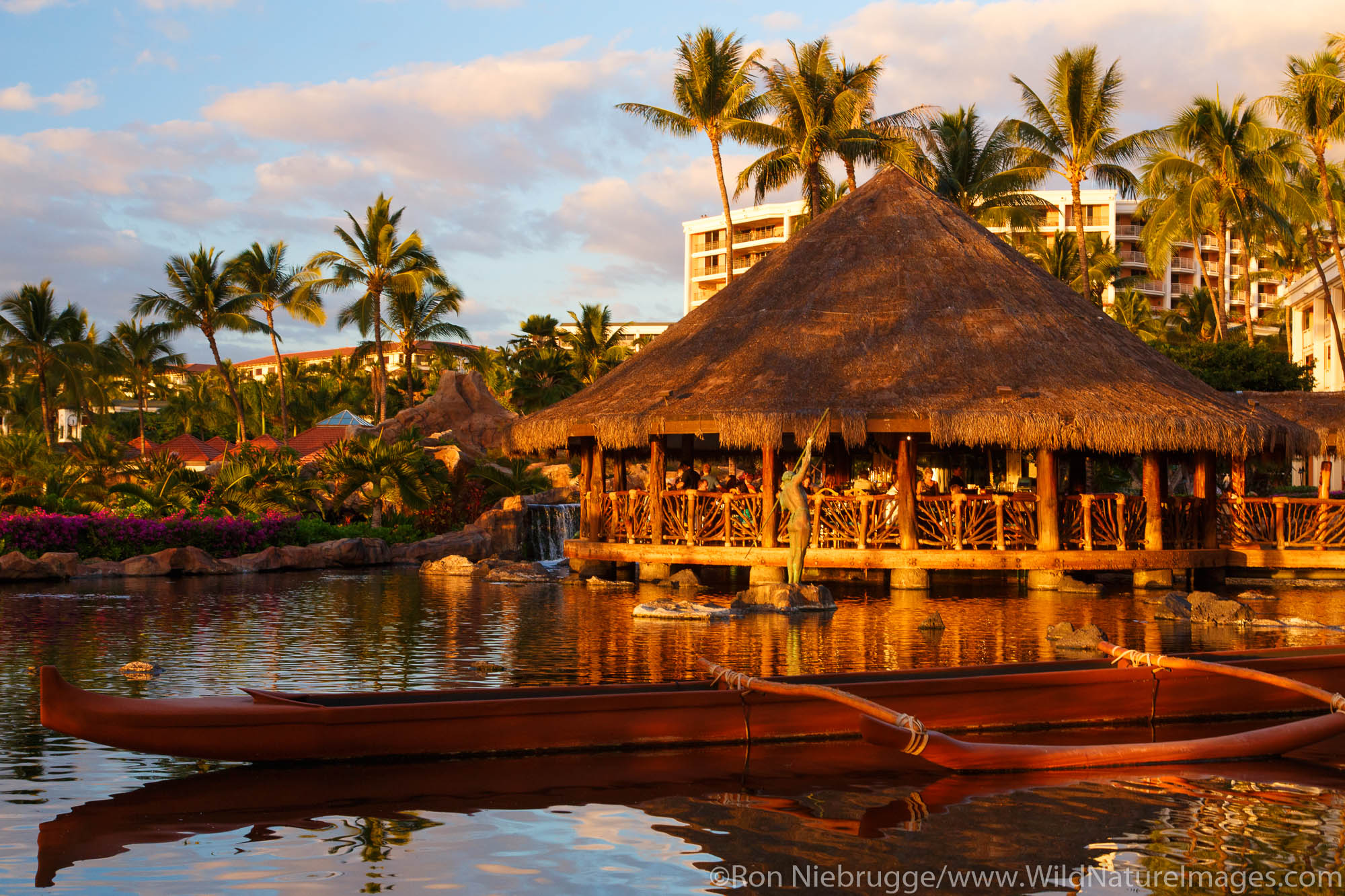 Humuhumunukunukuapua'a Restaurant, Grand Wailea, Maui, Hawaii.