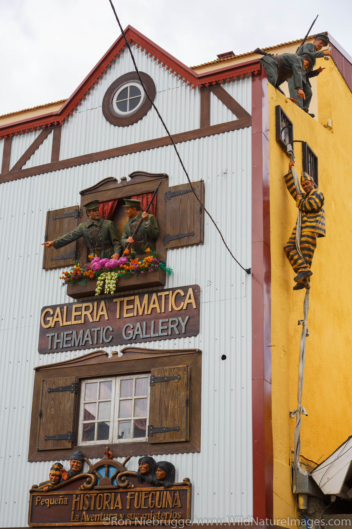 Thematic Gallery, Ushuaia, Argentina.