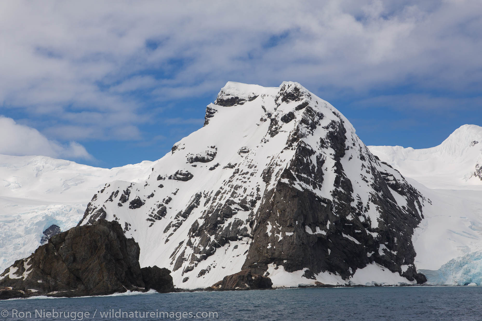 Point Wild, Elephant Island, Antarctica.  This is the desolate location where Shackelton left his men as he a a few others left...