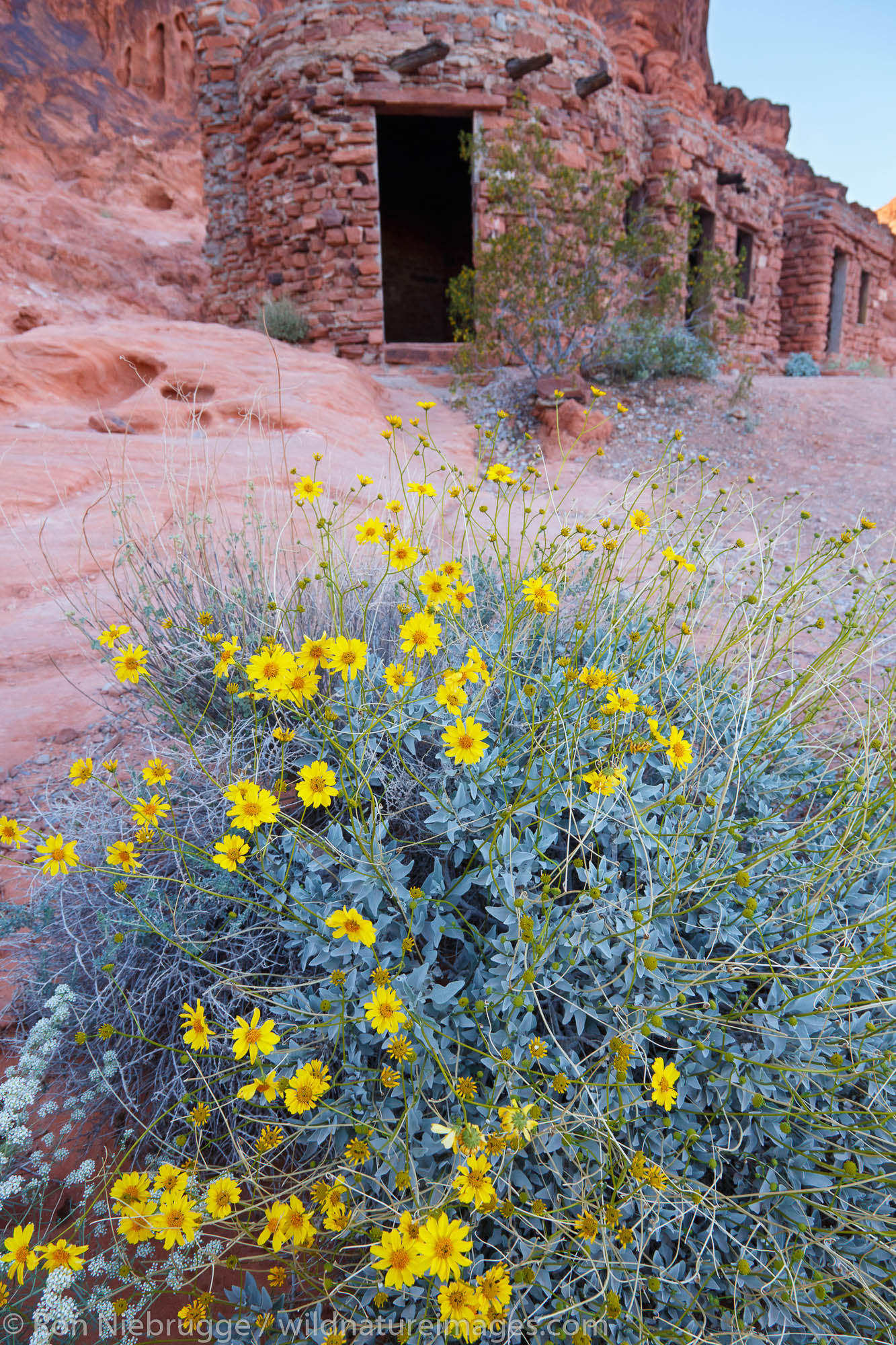 The cabins in Valley of Fire State Park, near Las Vegas, Nevada.