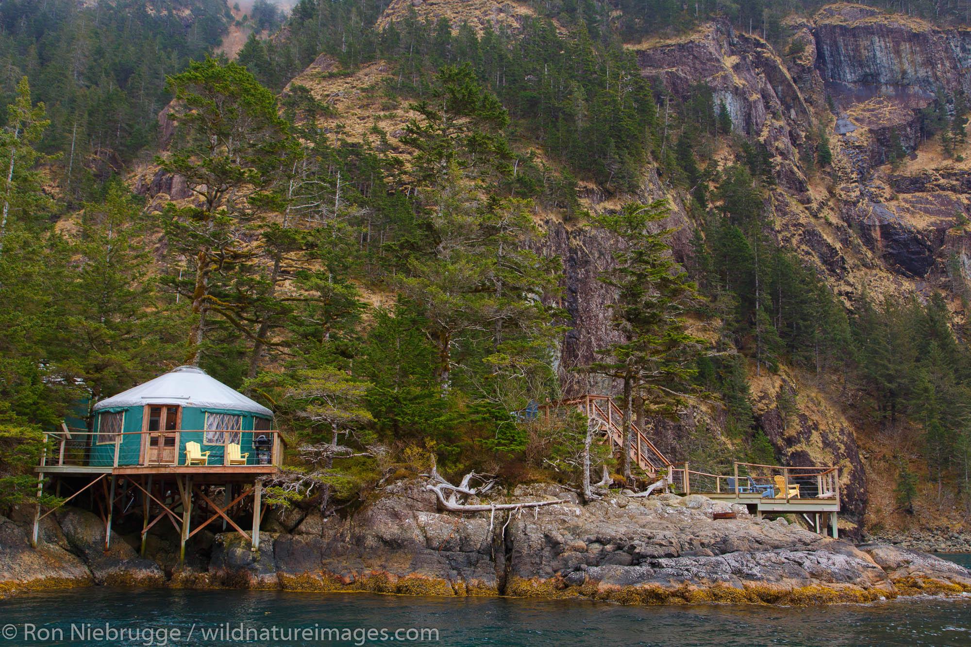 Orca Island Cabins, Humpy Cove, Resurrection Bay, Seward, Alaska.