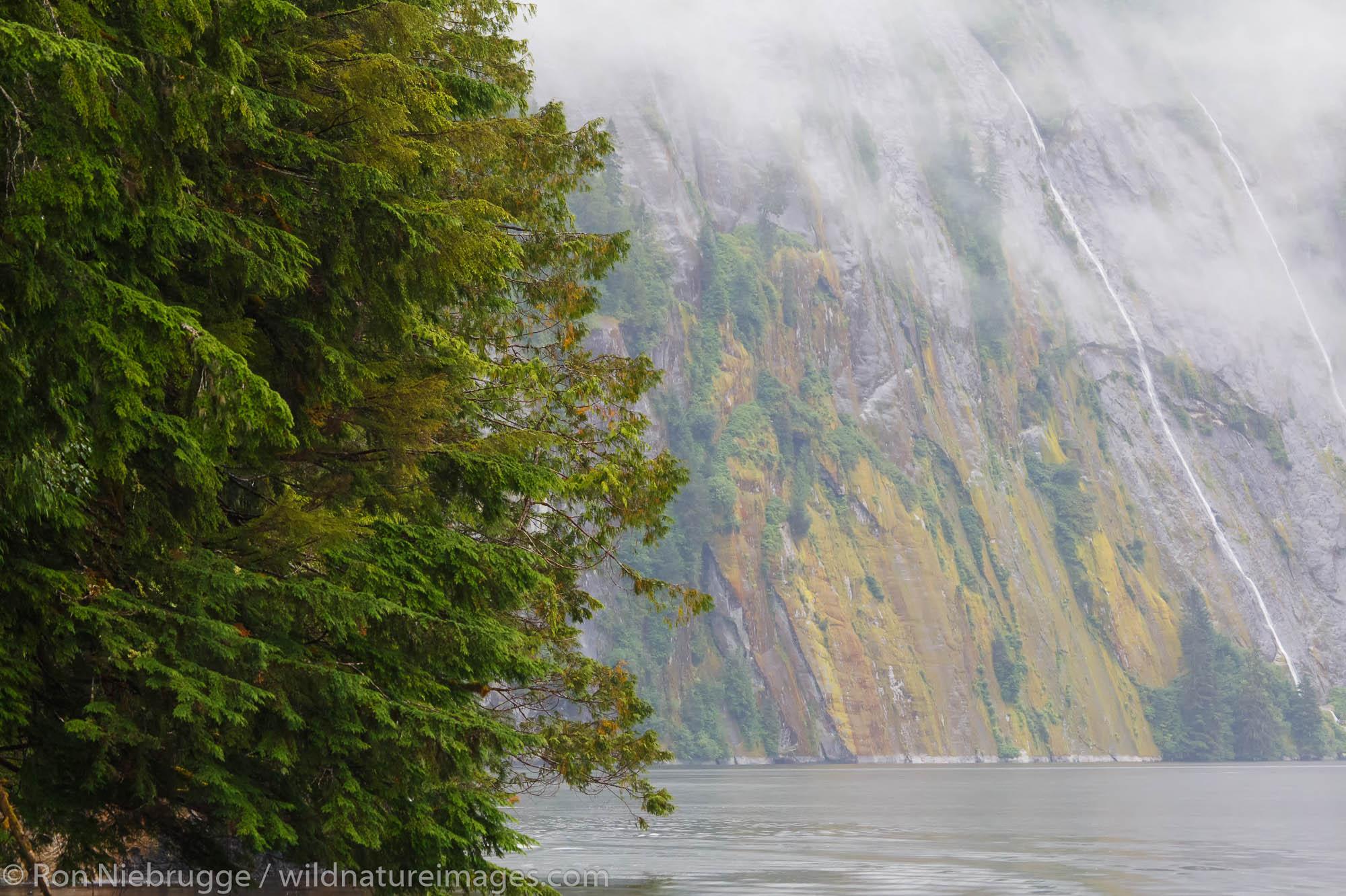 Misty Fiords National Monument, Ketchikan, Alaska.