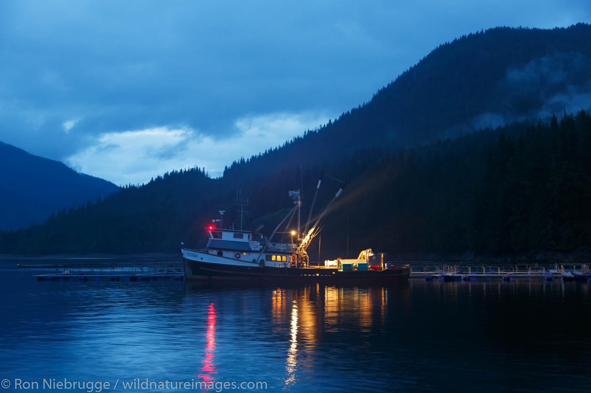 Neets Bay Hatchery near Ketchikan, Alaska.
