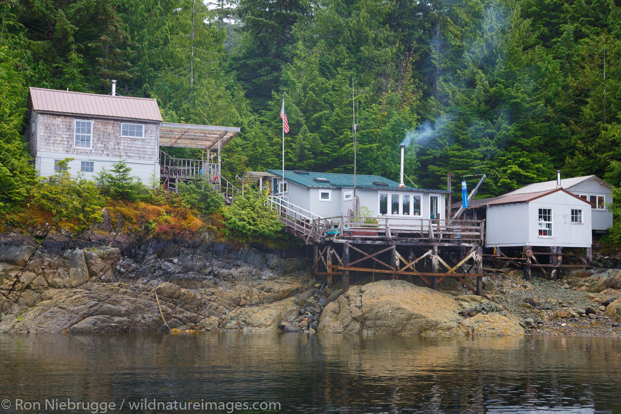 Small community of Meyers Chuck,Tongass National Forest, Alaska.