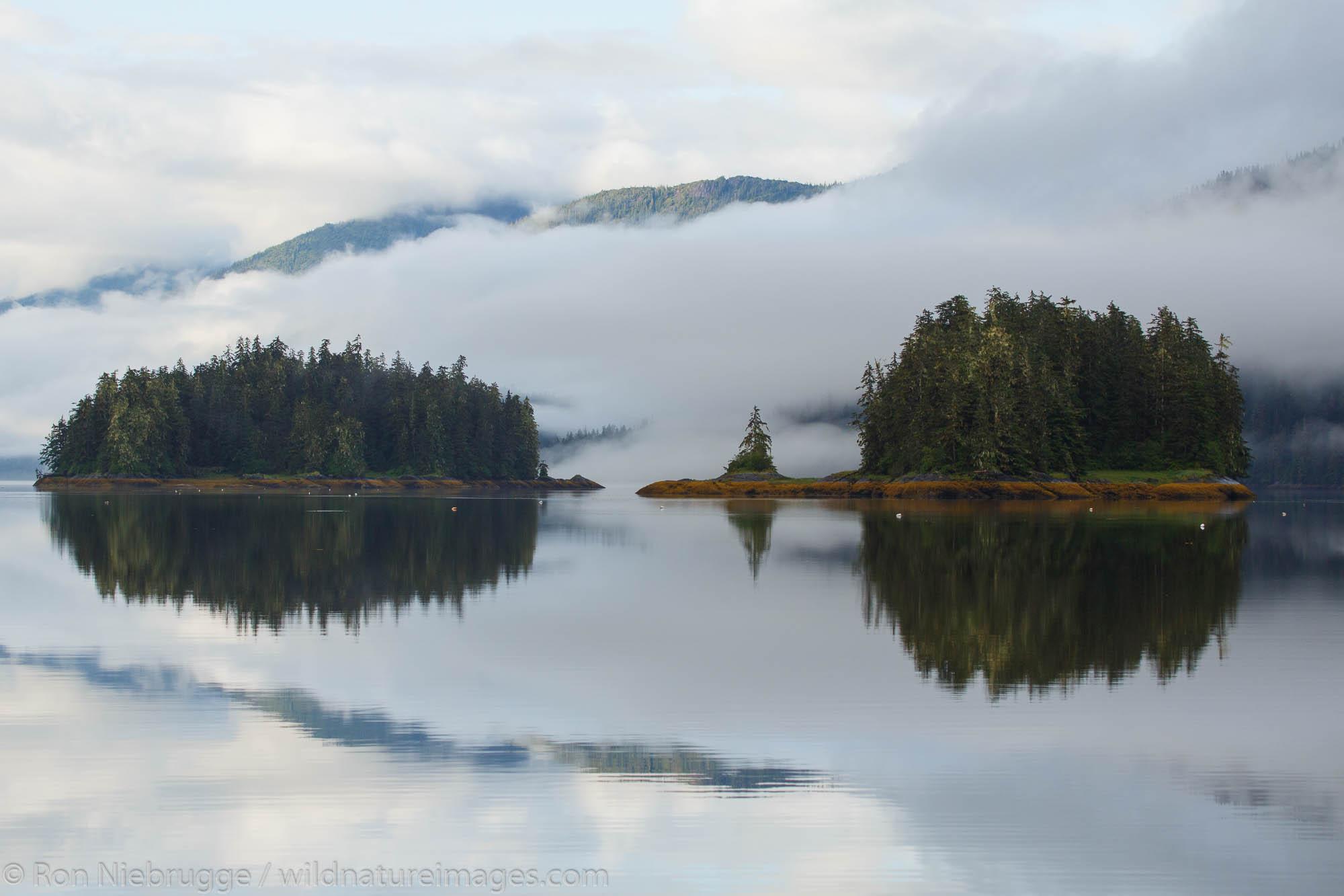 Berg Bay, Tongass National Forest, Alaska.