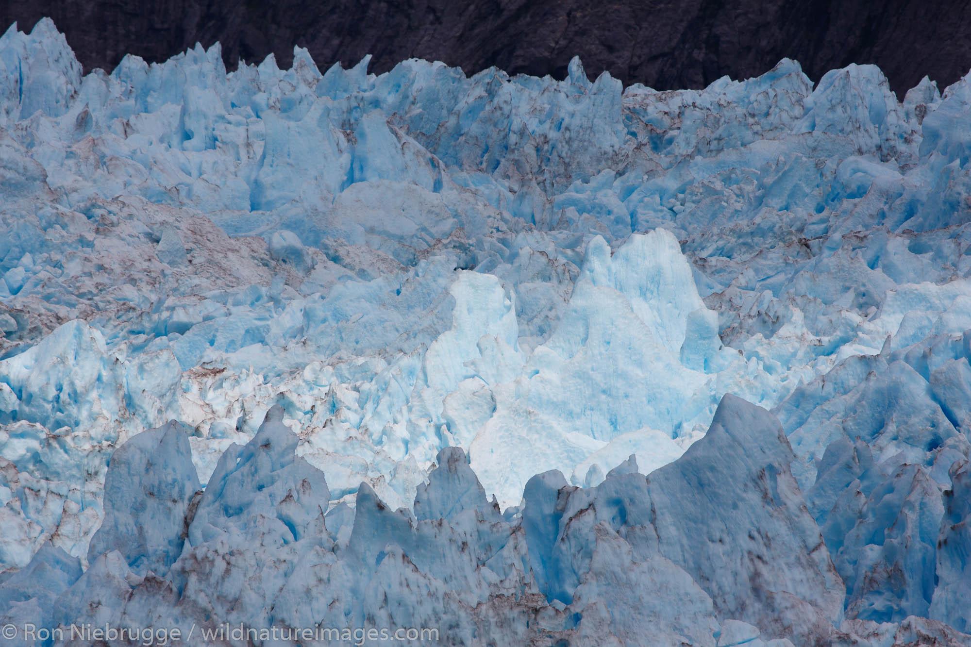 Le Conte Glacier,Tongass National Forest, Alaska.