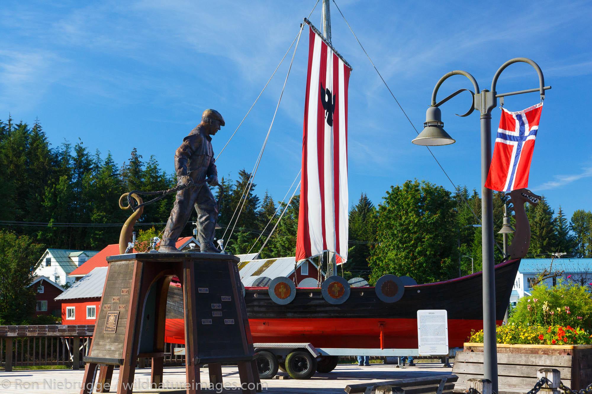 Fisherman's Memorial Park, Petersburg, Alaska.
