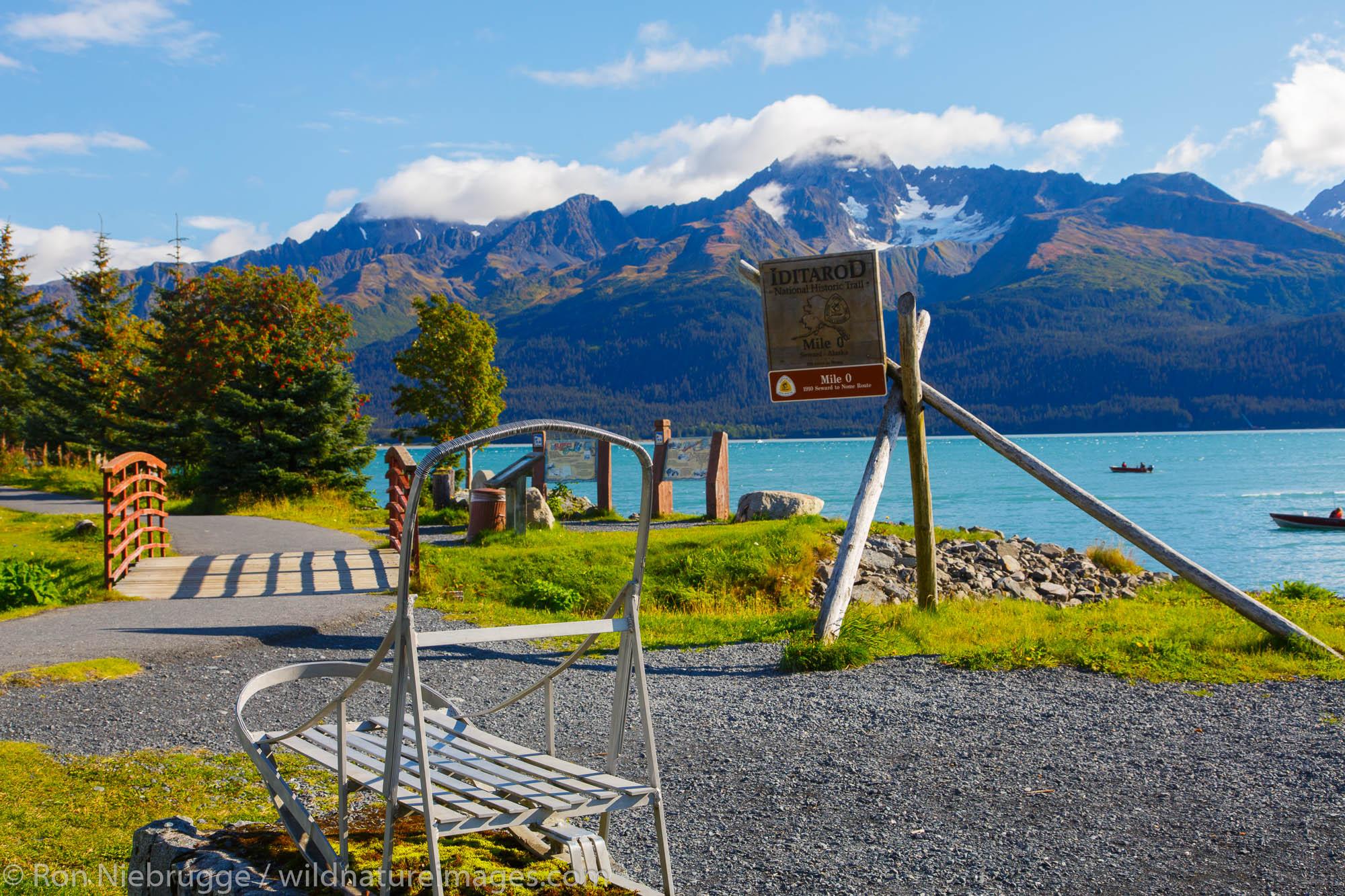 Resurrection Bay, Seward, Alaska.