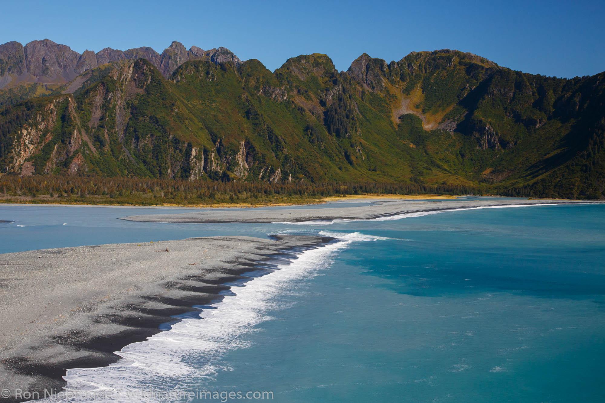 Resurrection Bay, Seward, Alaska., Kenai Fjords National Park, near Seward, Alaska.