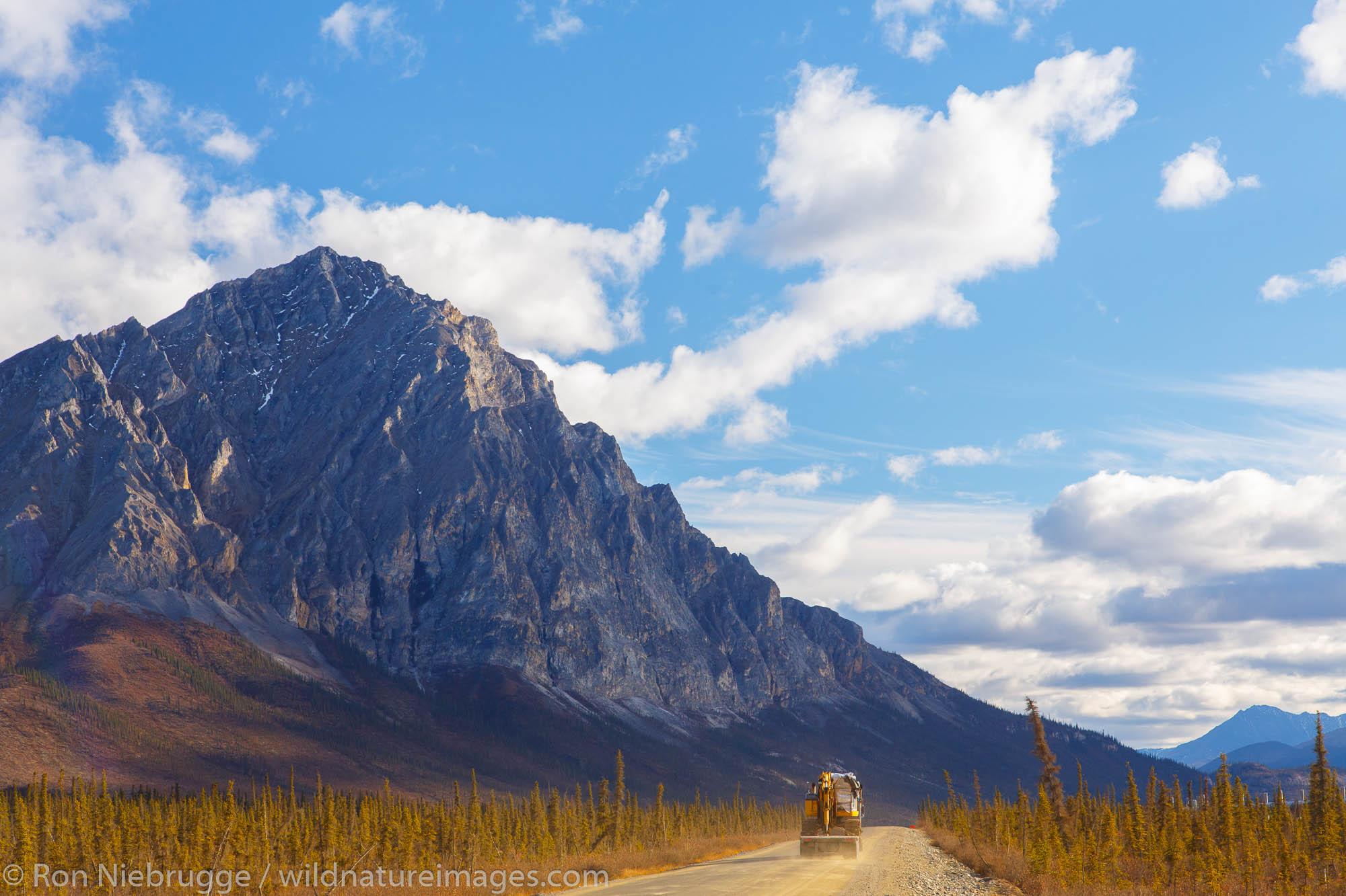 Dalton Highway, Alaska.