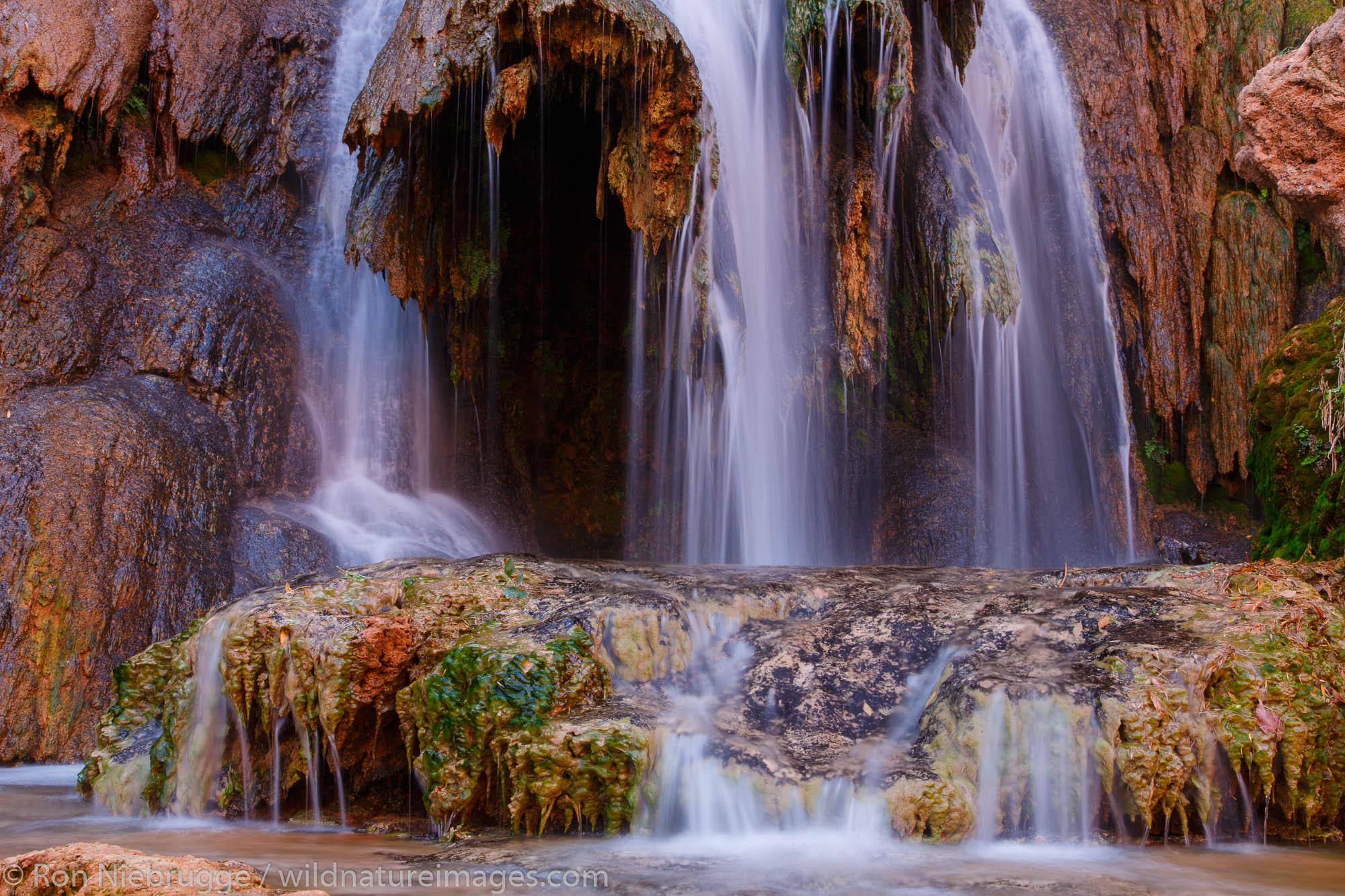 Navajo Falls, Havasupai Indian Reservation, Grand Canyon, Arizona.