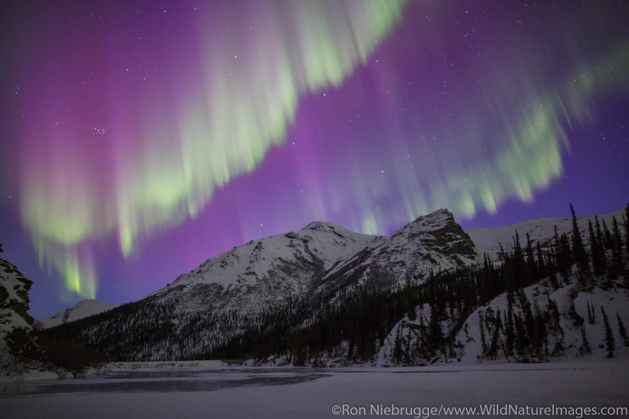 Arctic, Alaska, aurora borealis, photo
