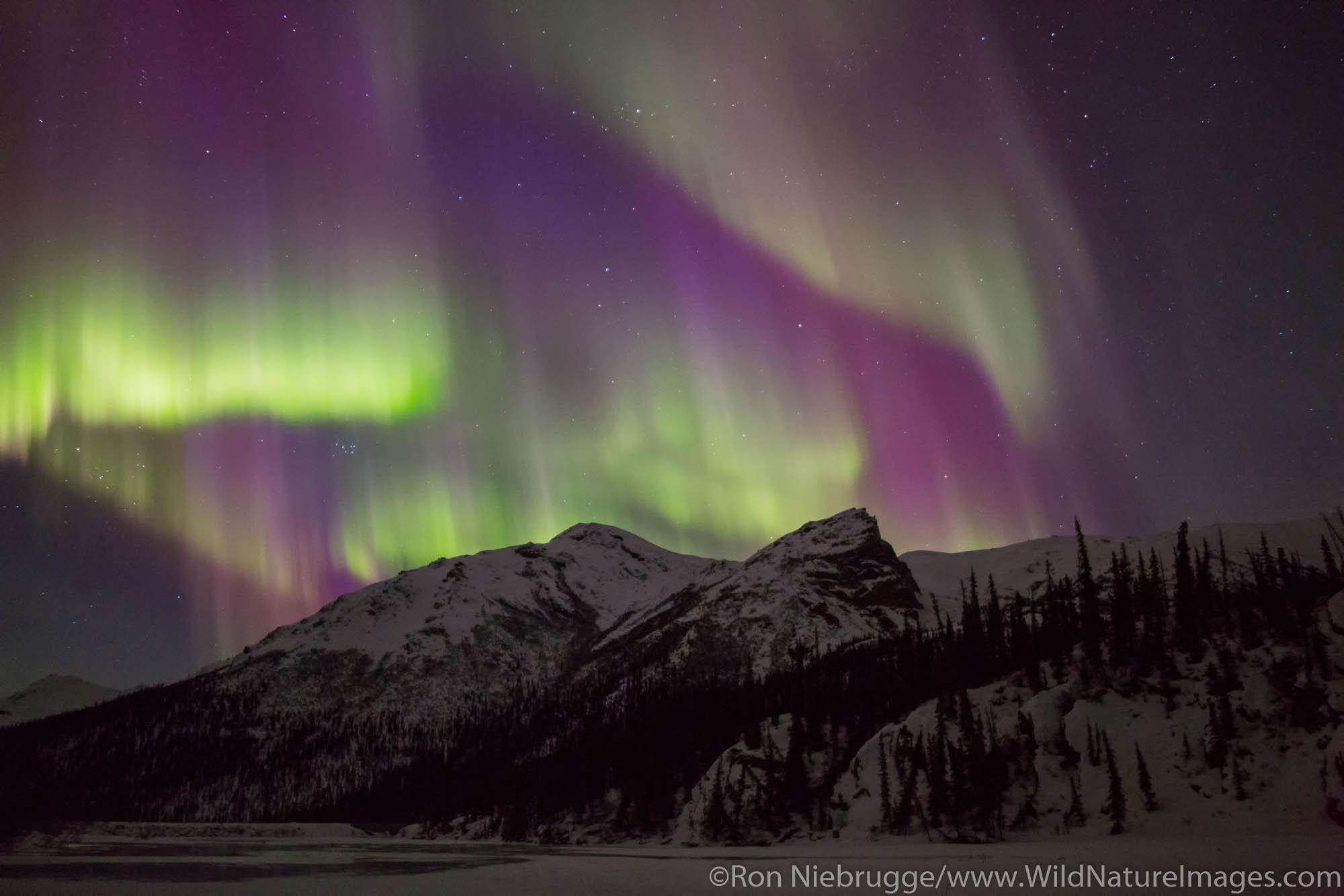 Arctic, Alaska, aurora borealis, photo