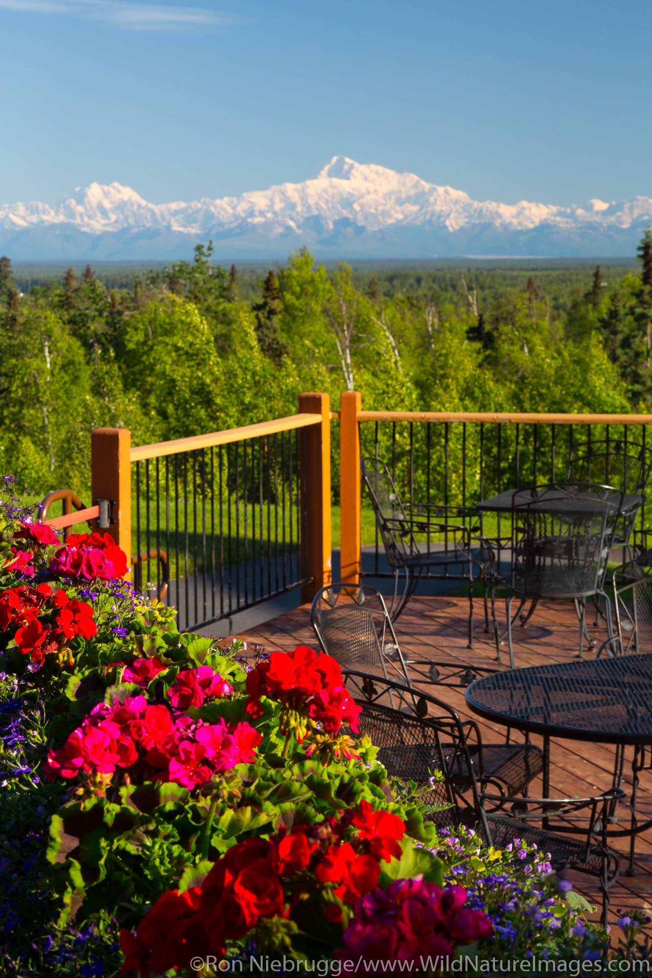Talkeetna Alaskan Lodge, Talkeetna, Alaska.