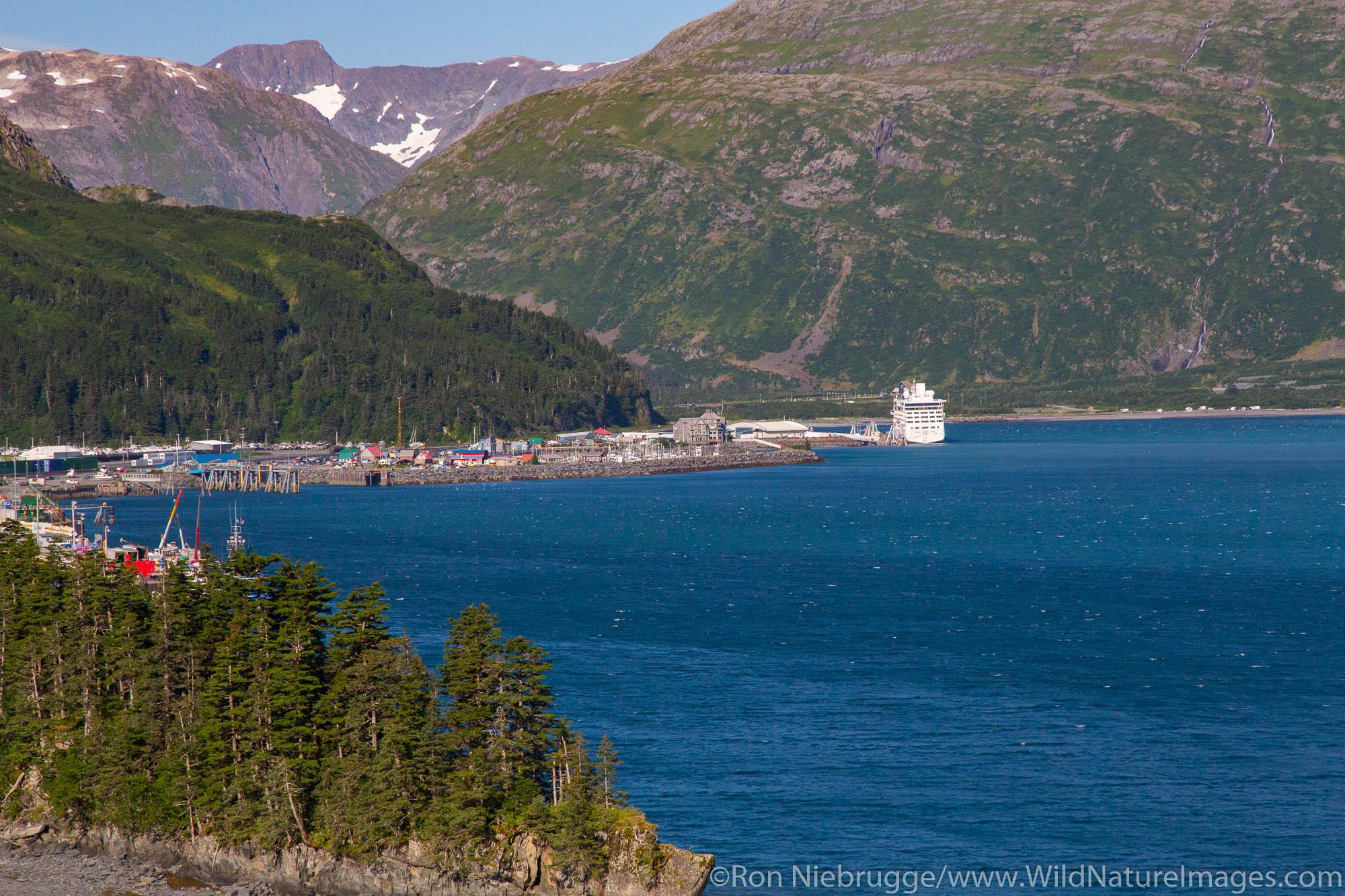 Whittier, Chugach National Forest, Alaska.
