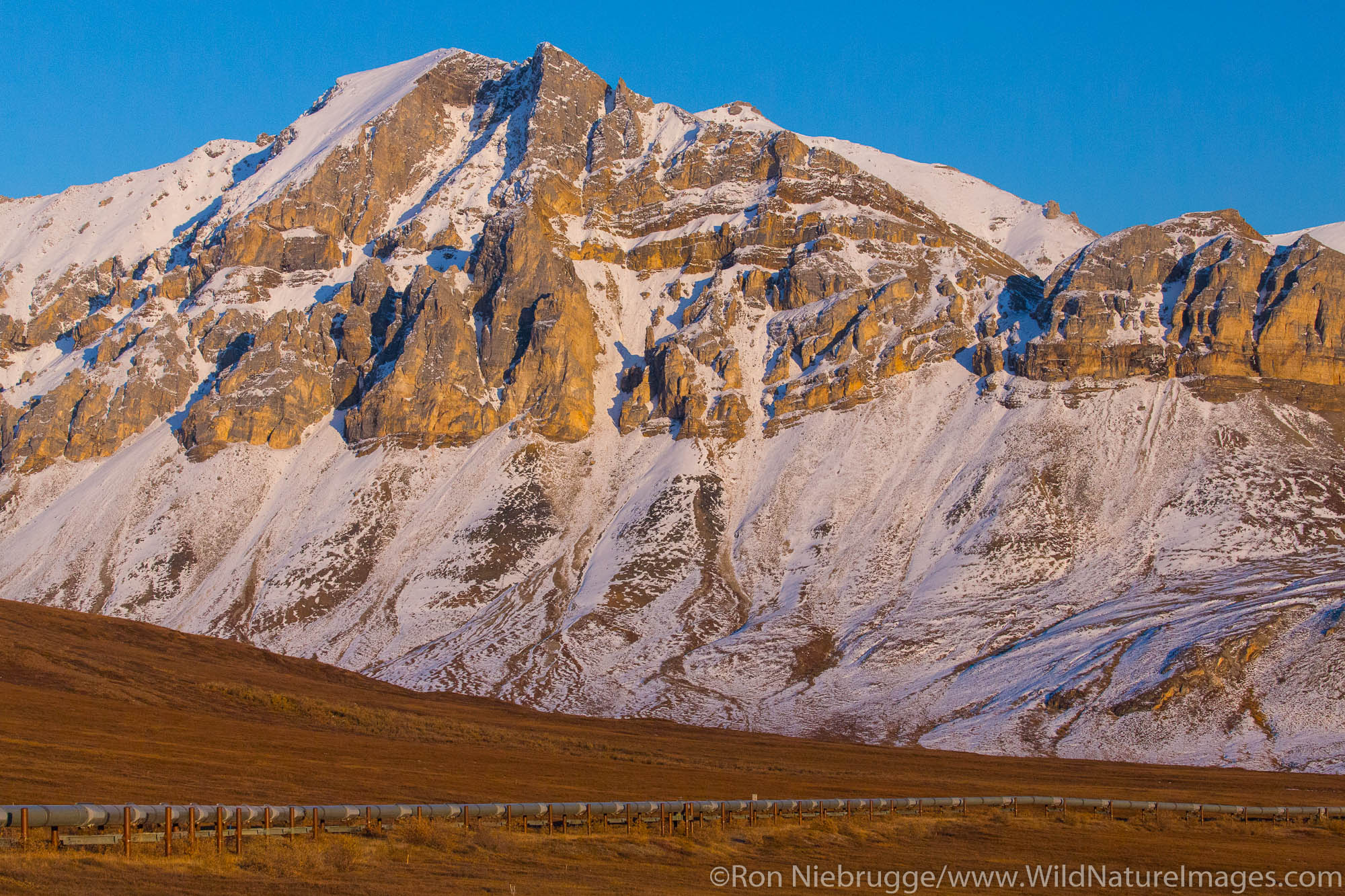The Brooks Range along the Dalton Highway, Alaska.