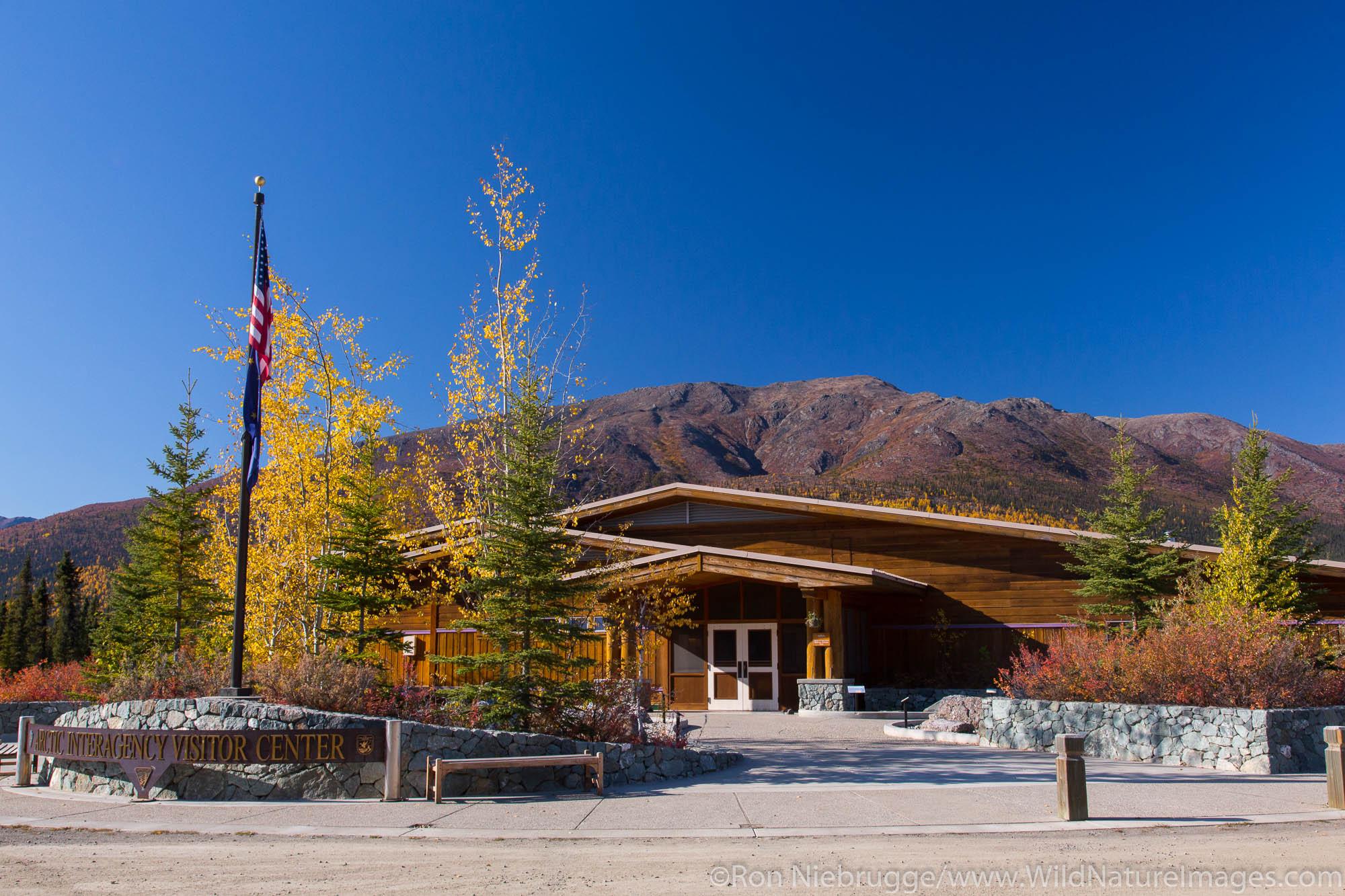 Arctic Interagency Visitor Center, Dalton Highway, Alaska.