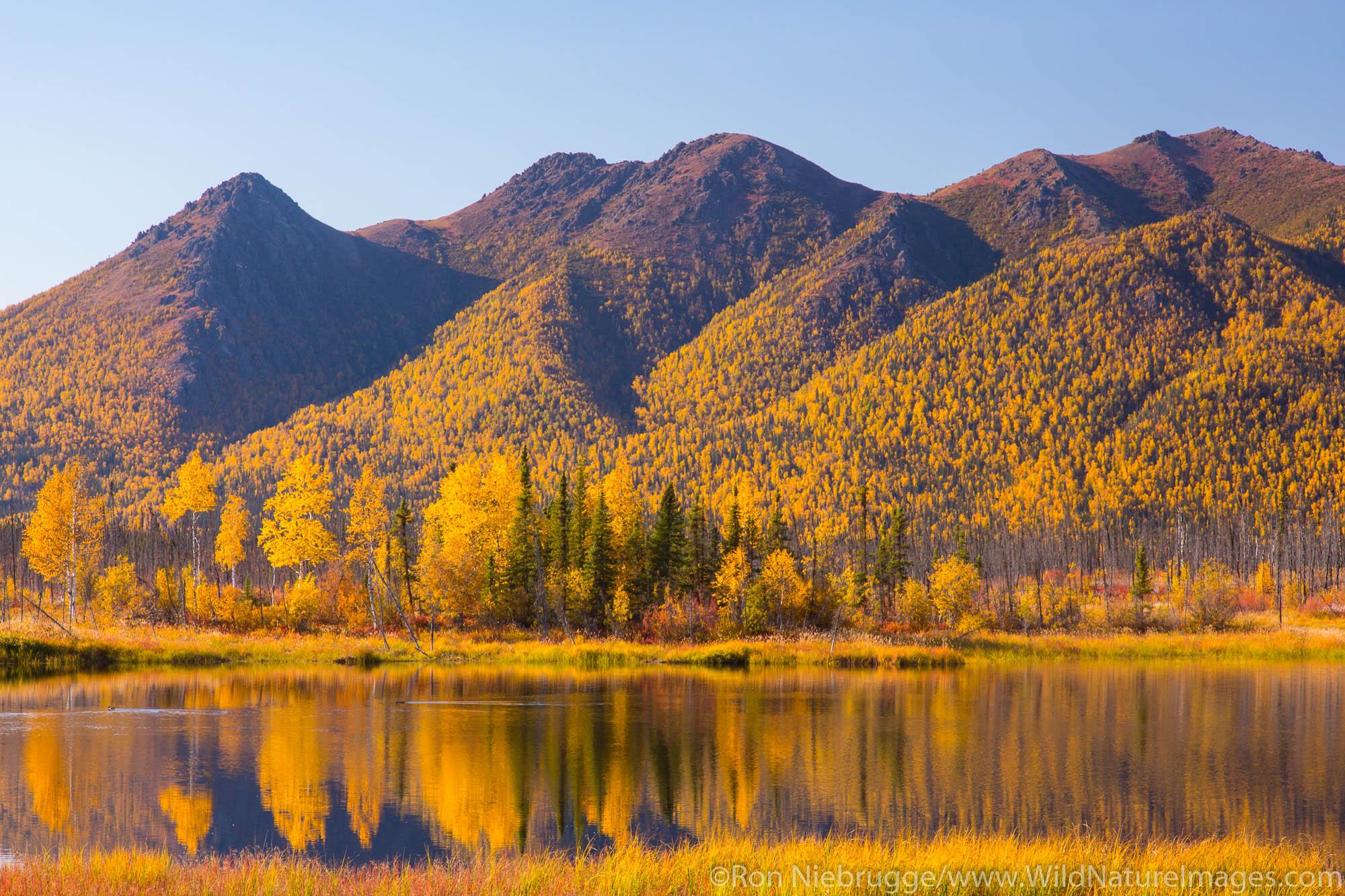 Brooks Range from the Dalton Highway, Alaska.