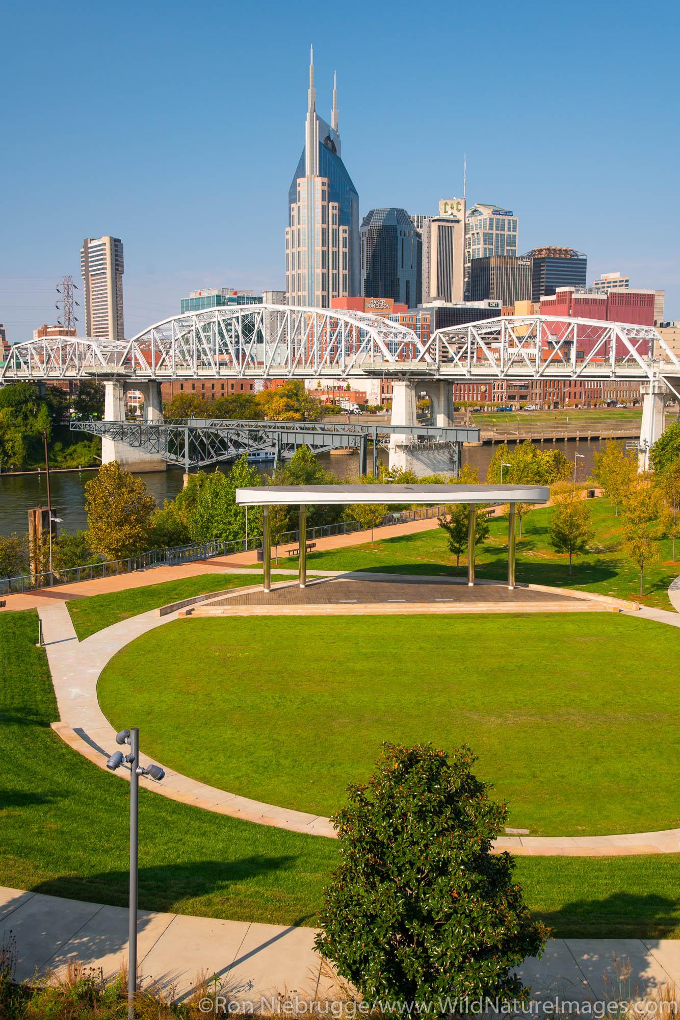 Riverfront Park, Nashville, Tennessee.
